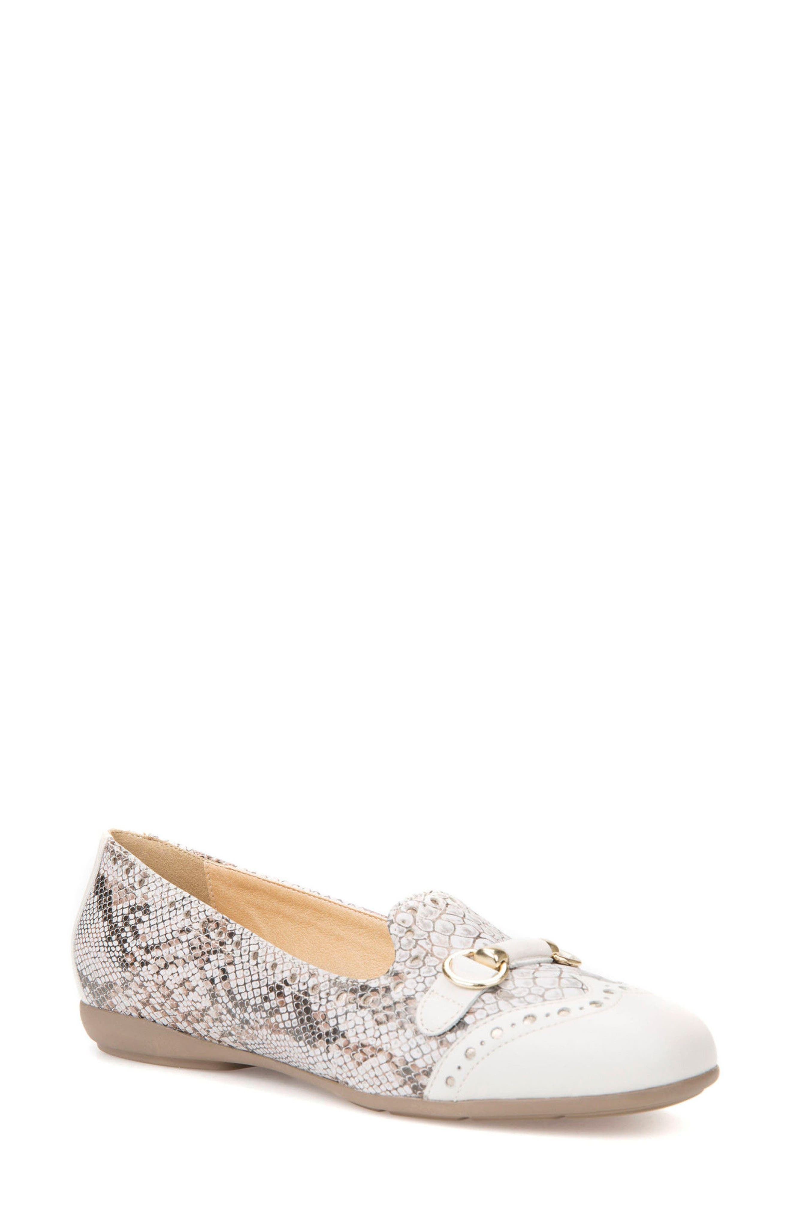 Annytah Loafer,                         Main,                         color, Off White Leather