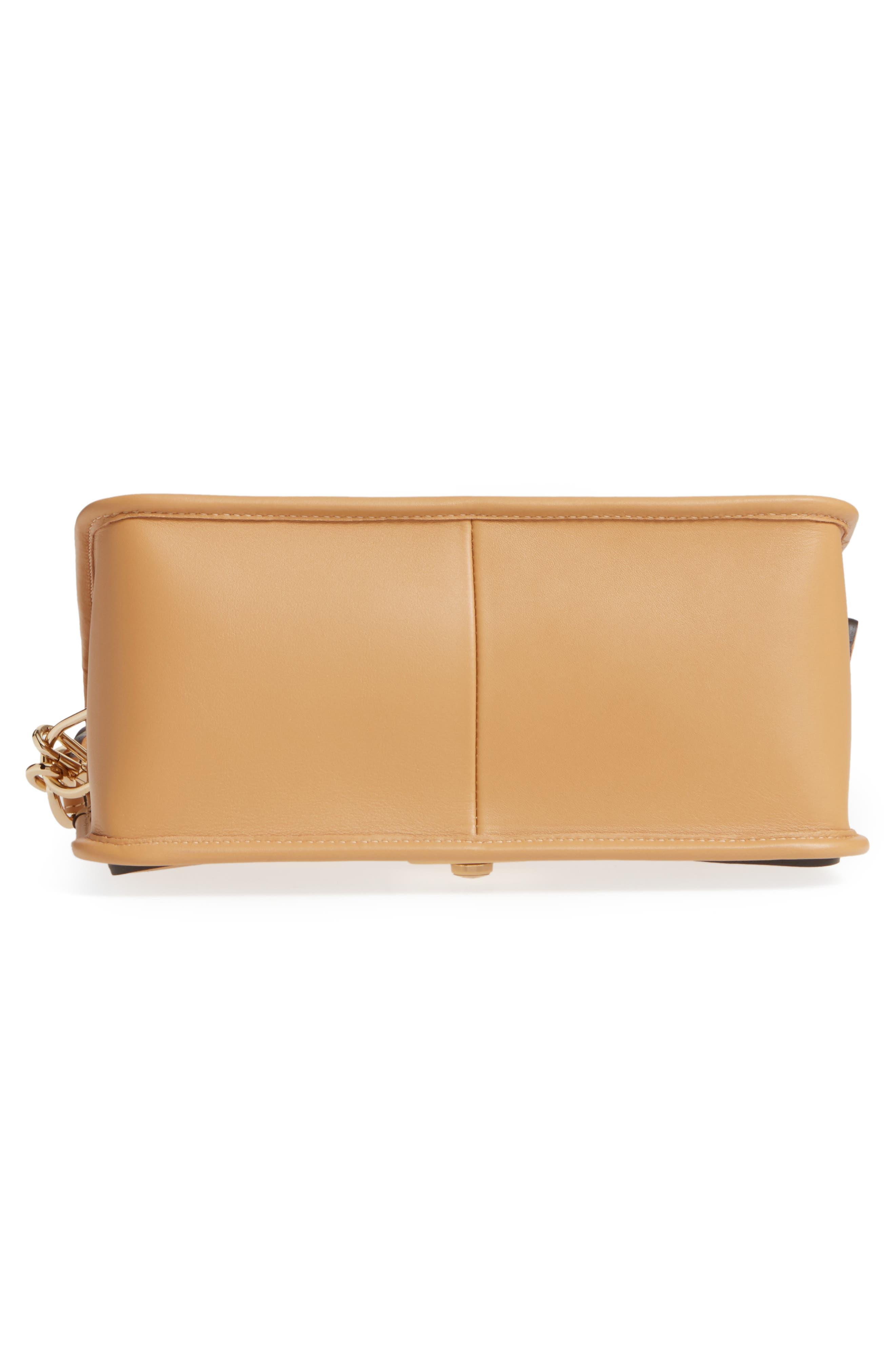 Alternate Image 6  - Longchamp Mademoiselle Calfskin Leather Crossbody Bag
