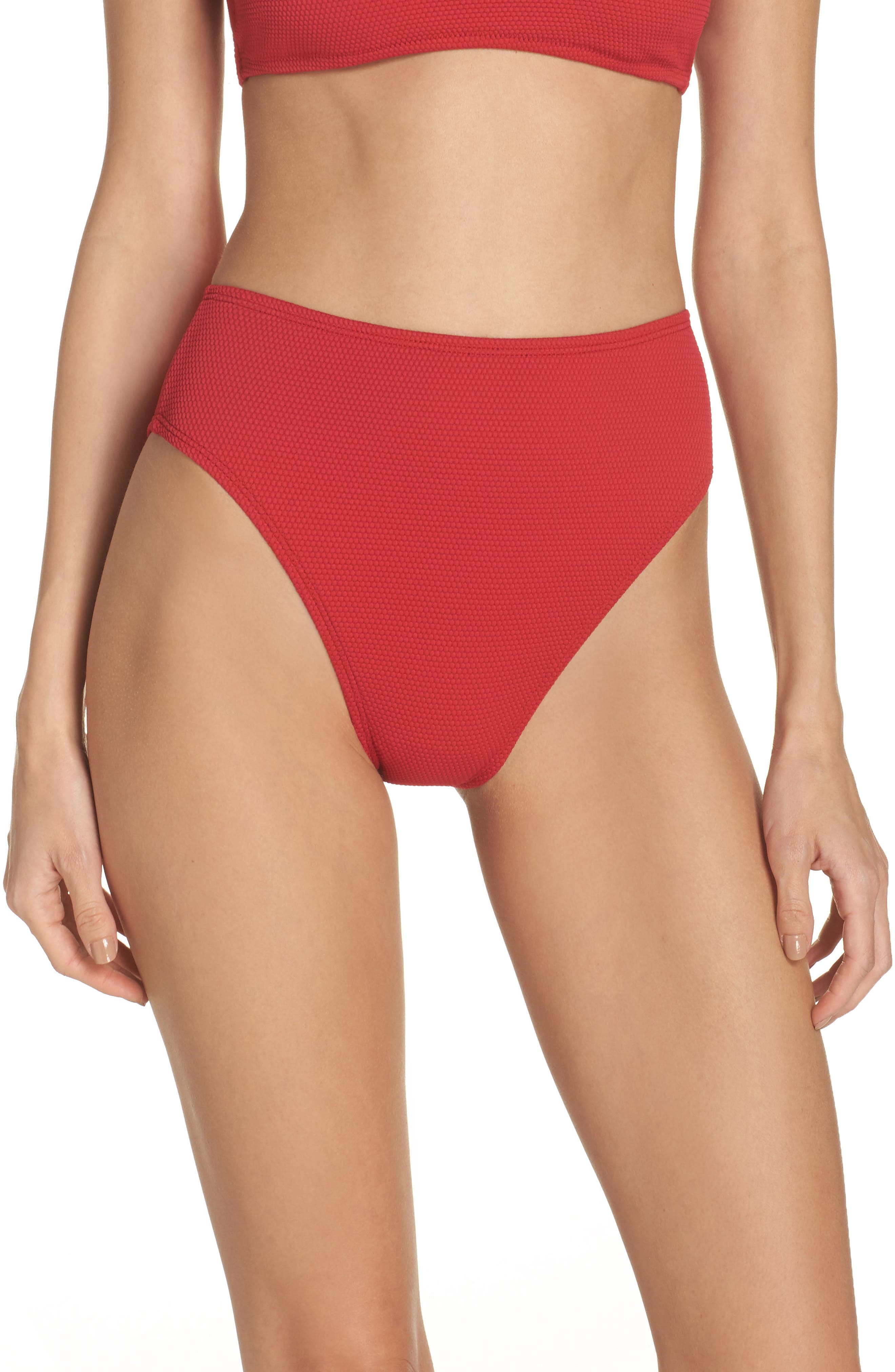 Leith High Waist Bikini Bottoms