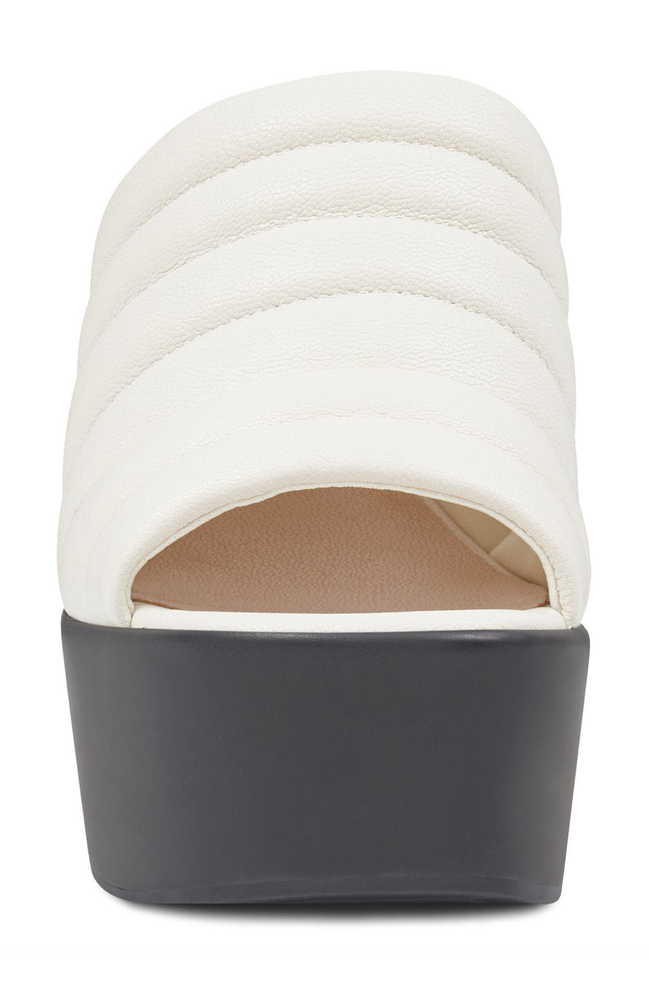 Millie - 40th Anniversary Capsule Collection Platform Wedge,                             Alternate thumbnail 4, color,                             Off White Leather