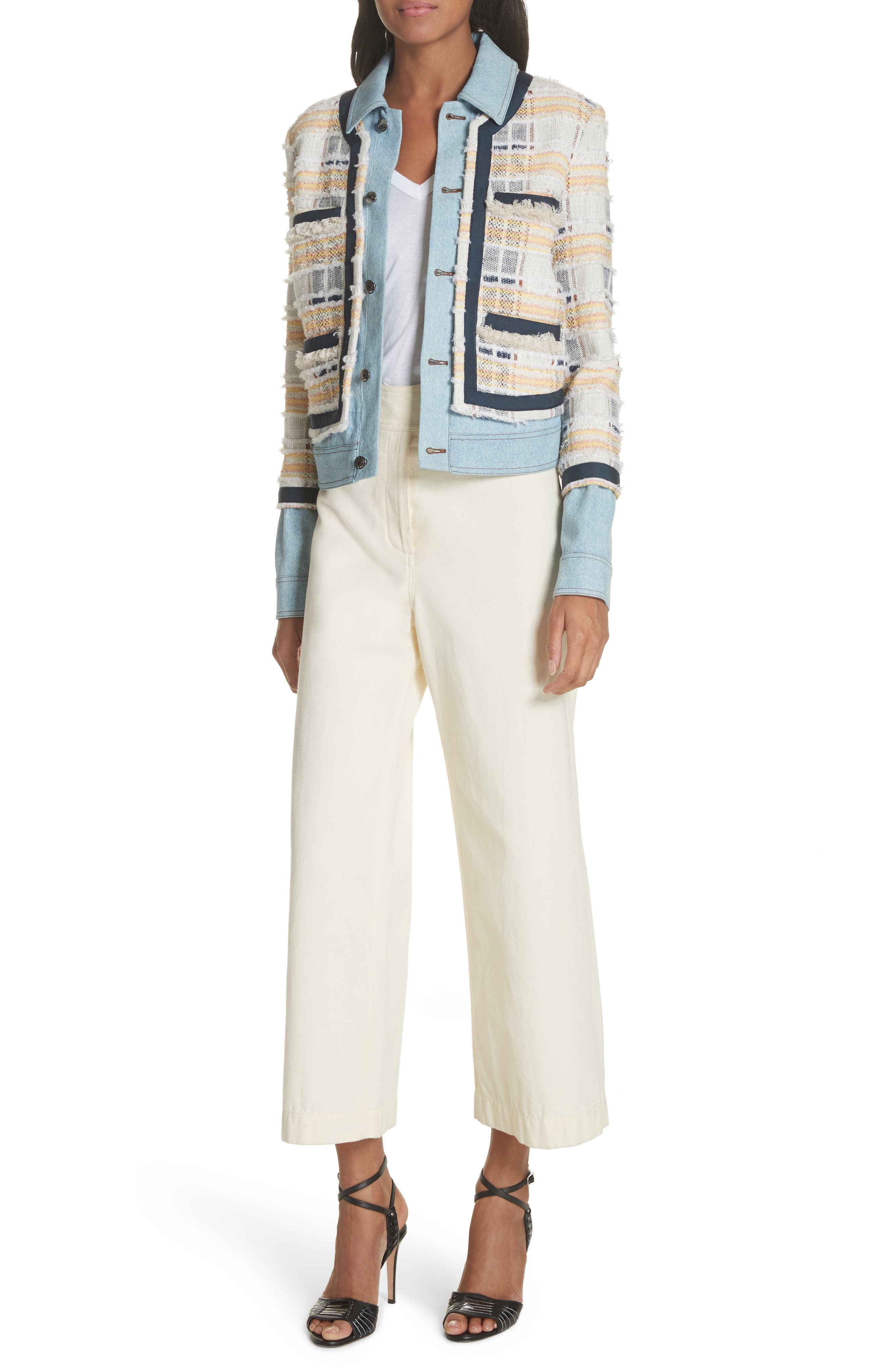 Caymen Cotton Gaucho Pants,                             Alternate thumbnail 7, color,                             Natural