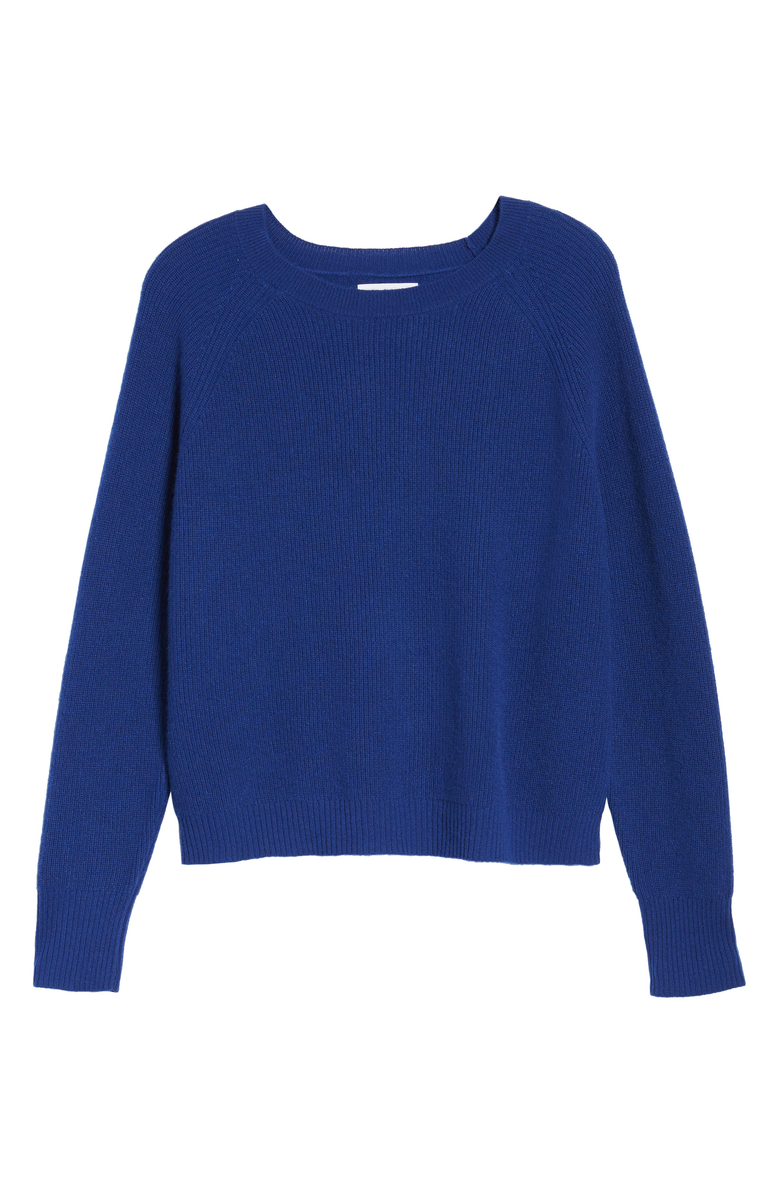 Cashmere Sweater,                             Alternate thumbnail 6, color,                             Coblt Blue