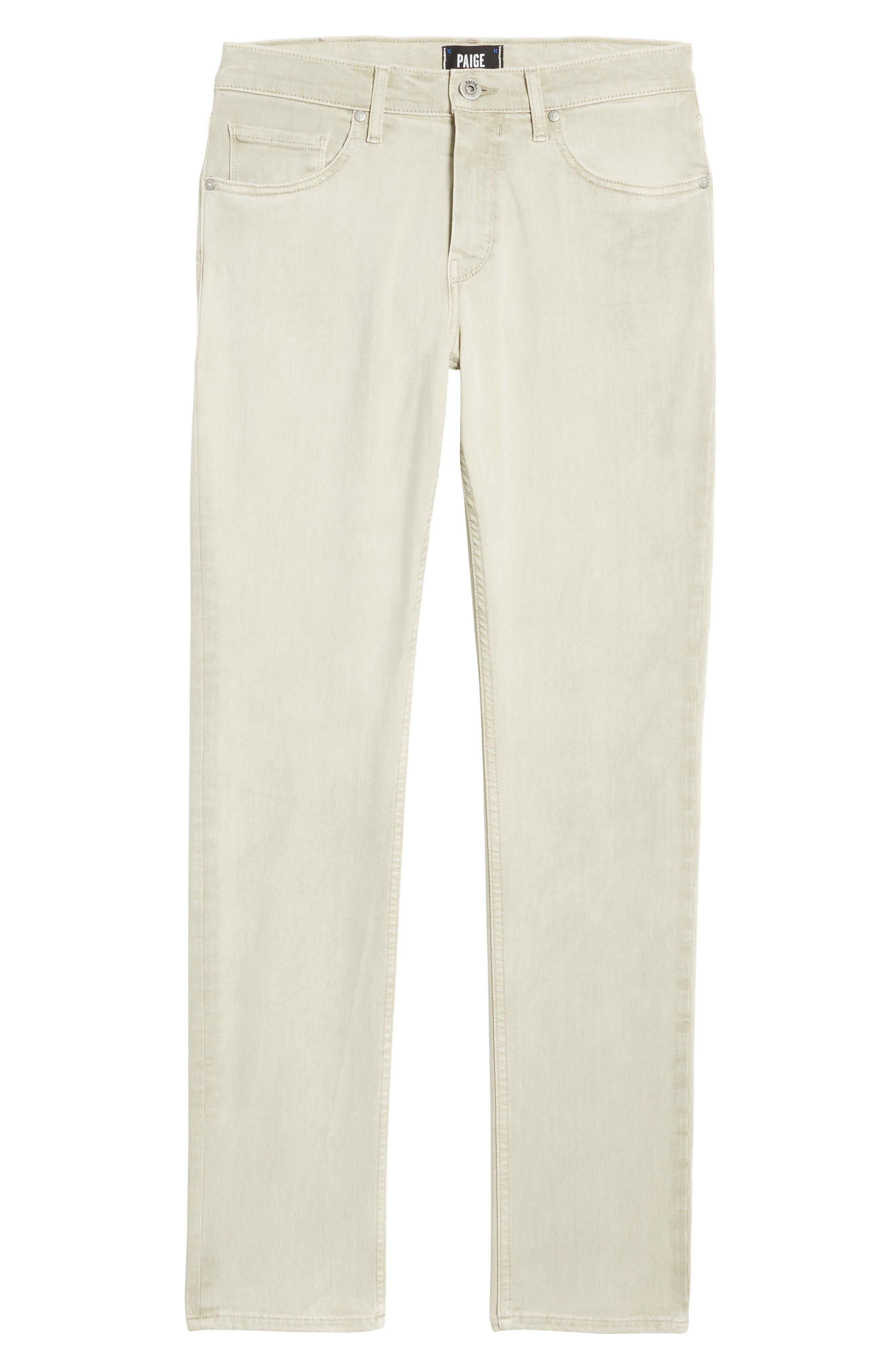 Federal Slim Straight Leg Jeans,                             Alternate thumbnail 6, color,                             Vintage Pebble
