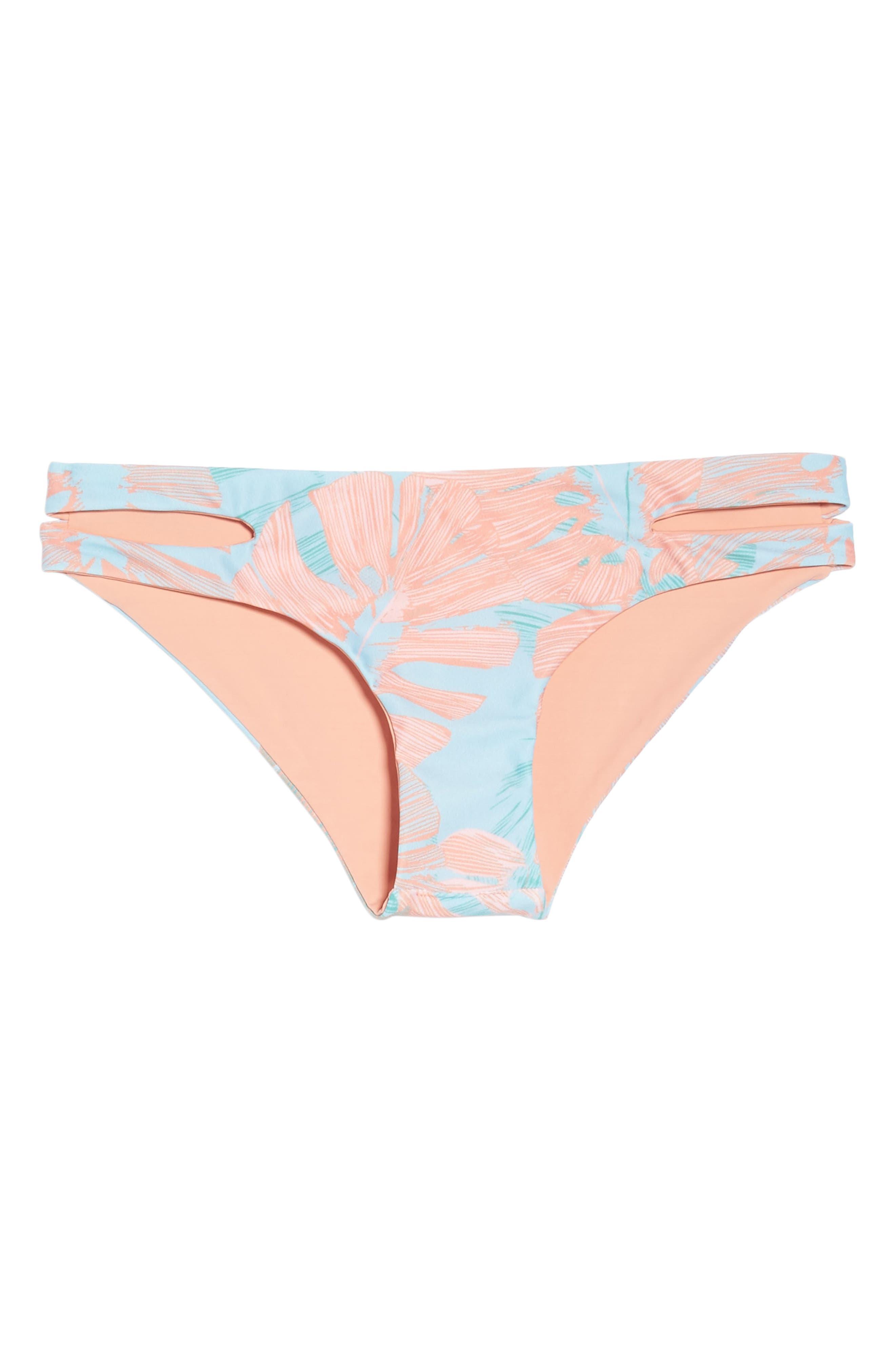 Estella Classic Bikini Bottoms,                             Alternate thumbnail 10, color,                             Bungalow Palm