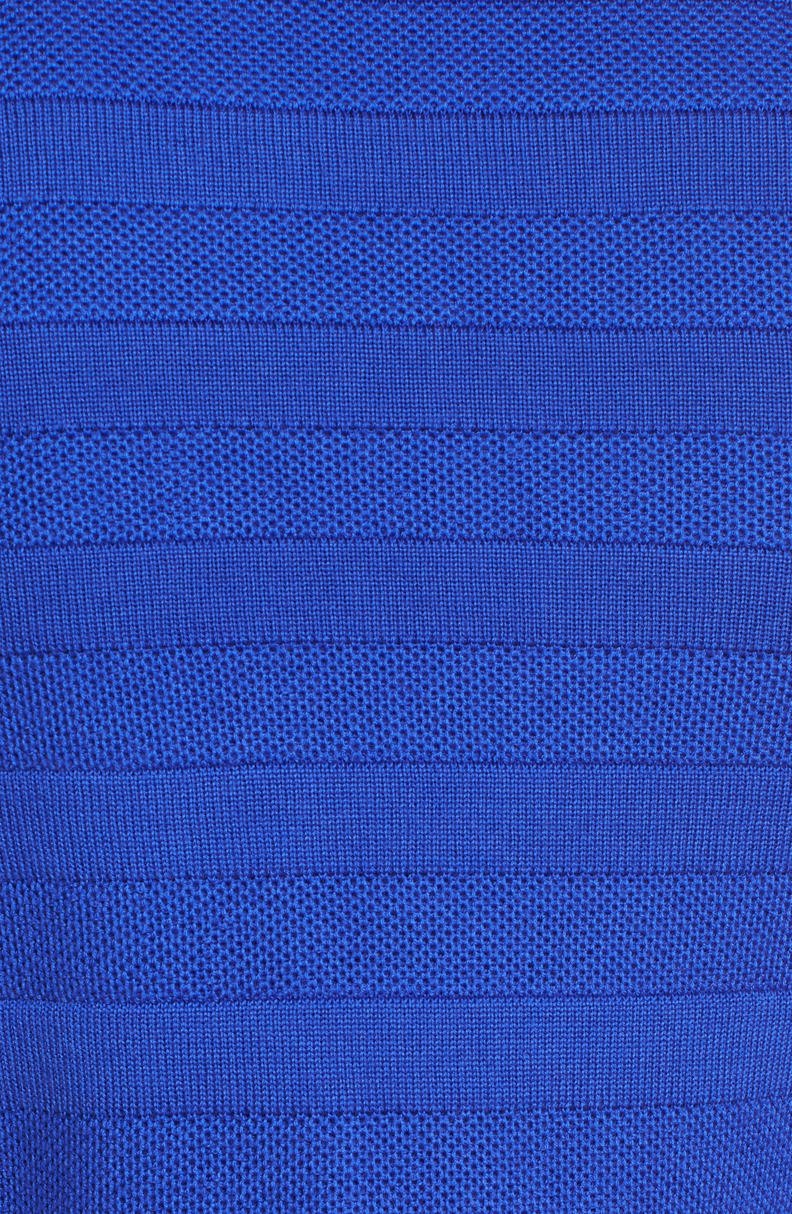 Farlotte Wool Cardigan,                             Alternate thumbnail 5, color,                             Sailor Blue