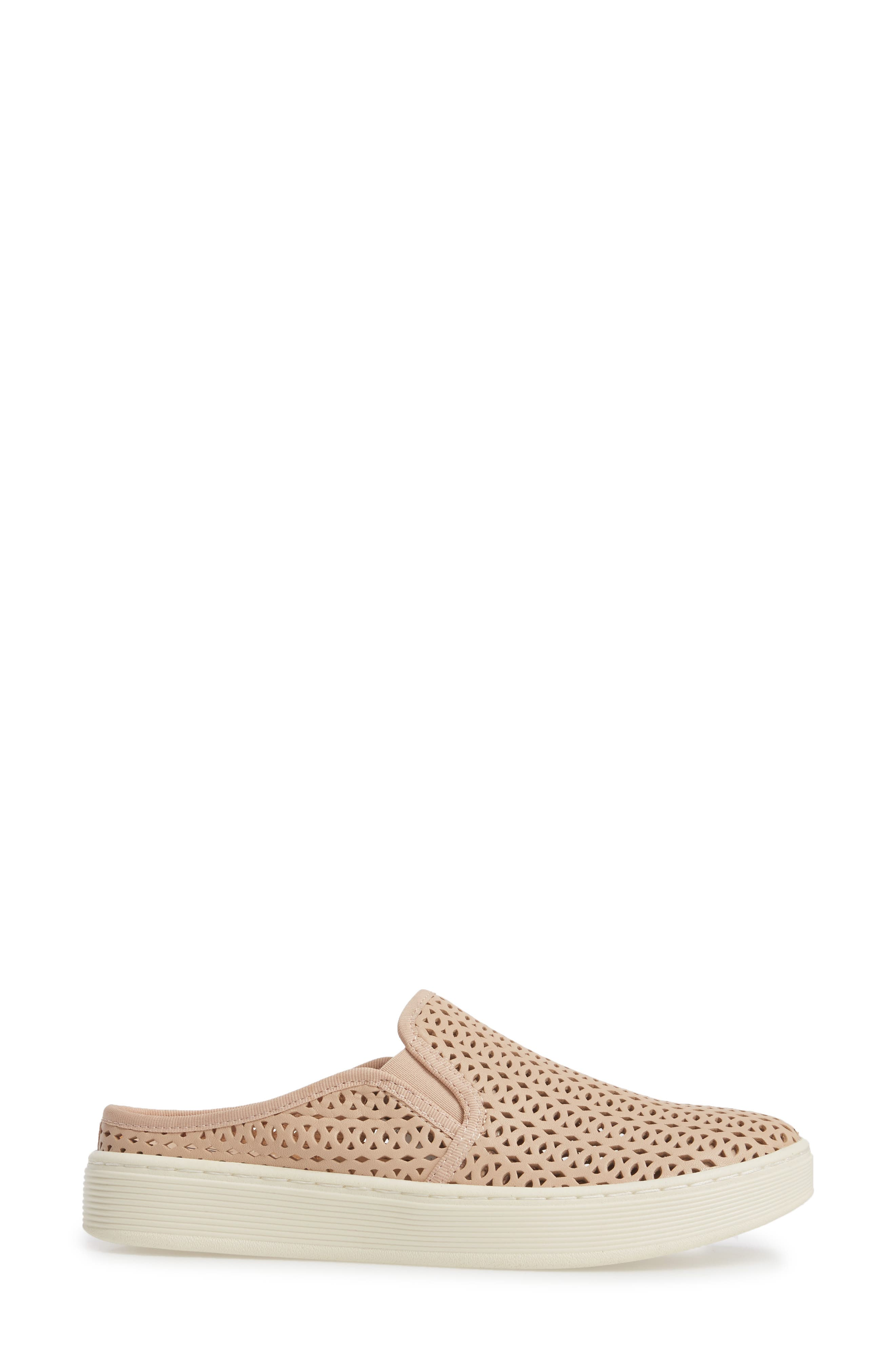 Somers II Sneaker Mule,                             Alternate thumbnail 3, color,                             Blush Leather