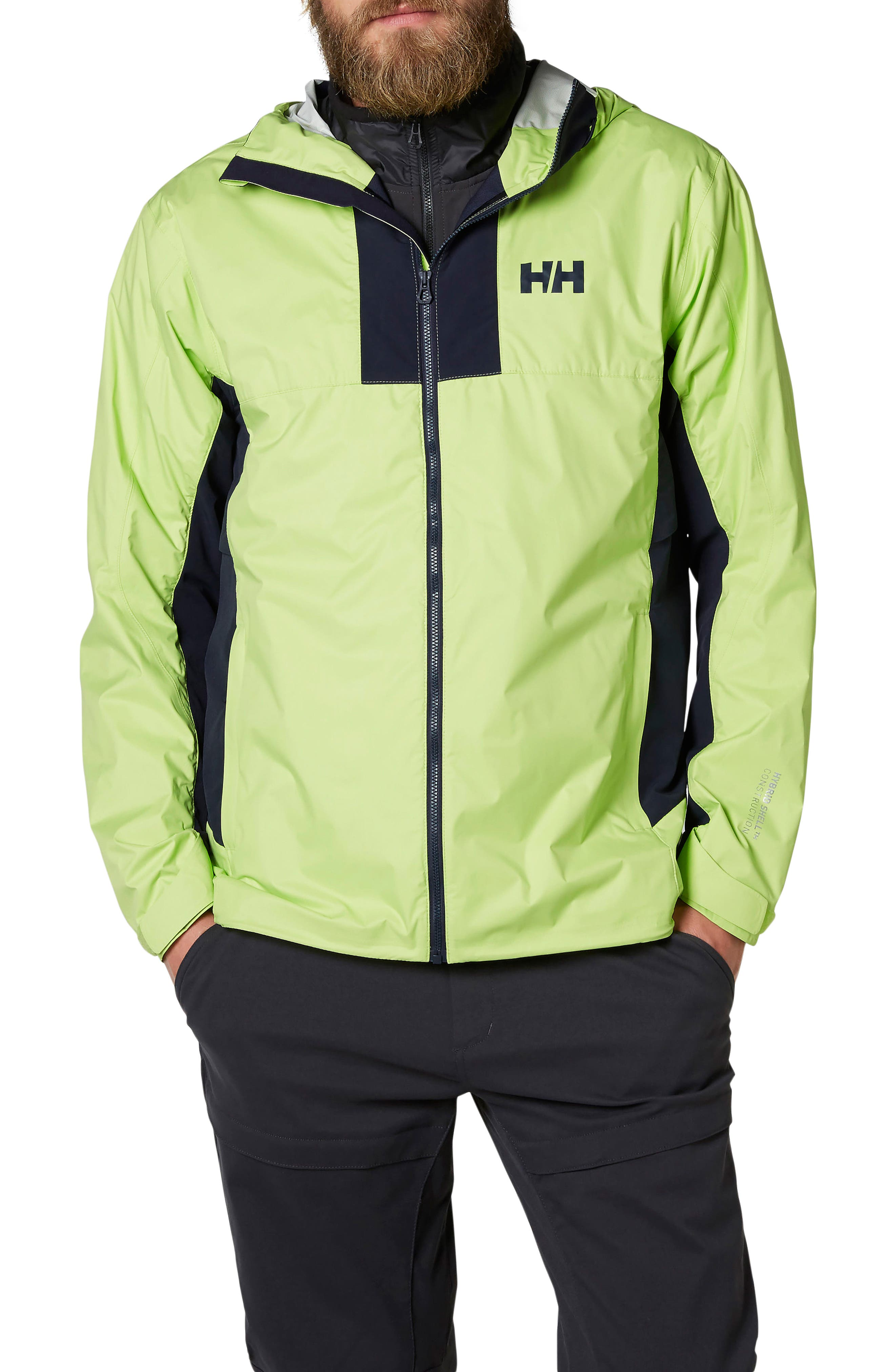 Helly Hansen Vanir Logr Regular Fit Waterproof Jacket
