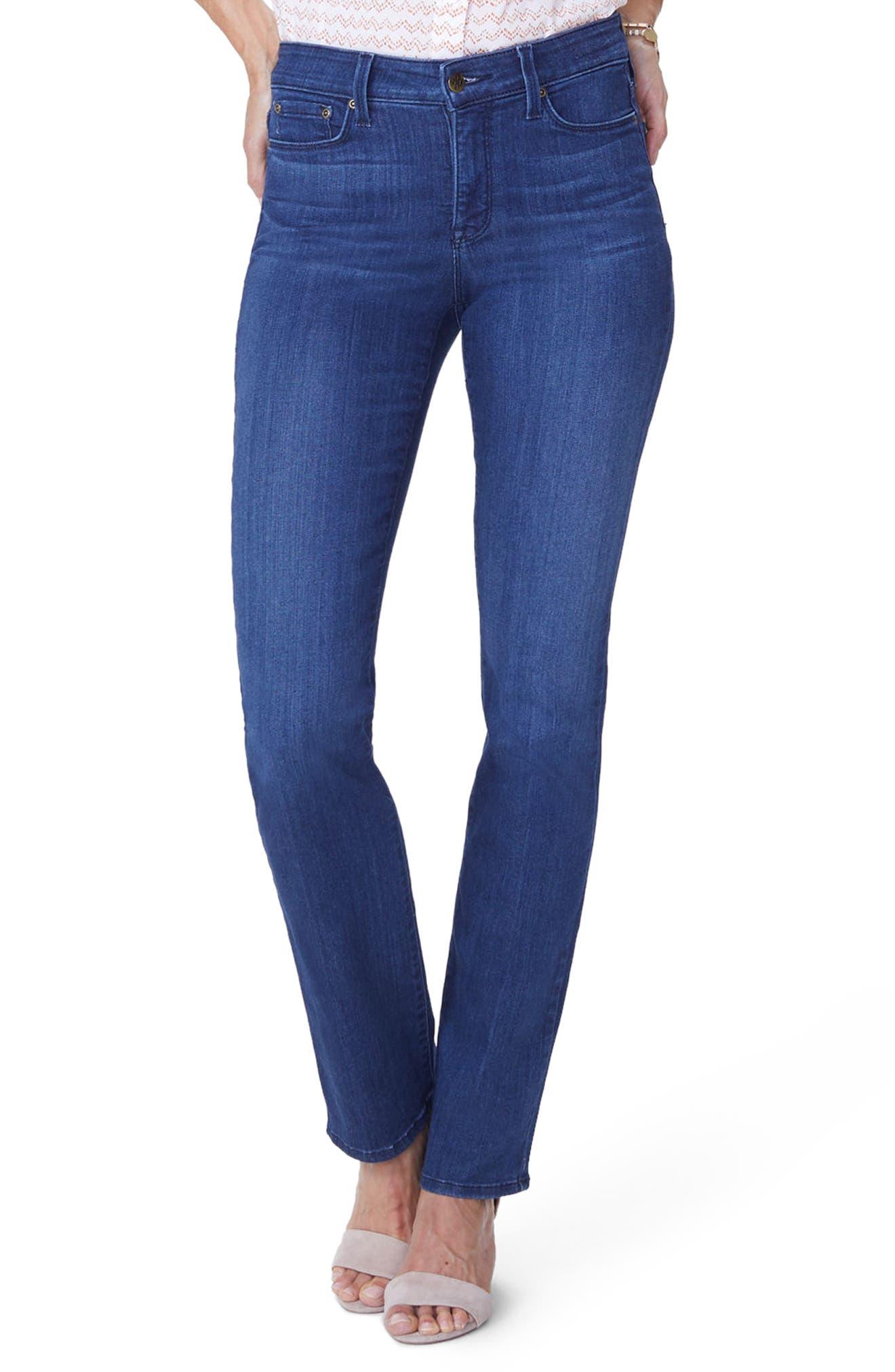 Marilyn Straight Jeans,                             Main thumbnail 1, color,                             Lark