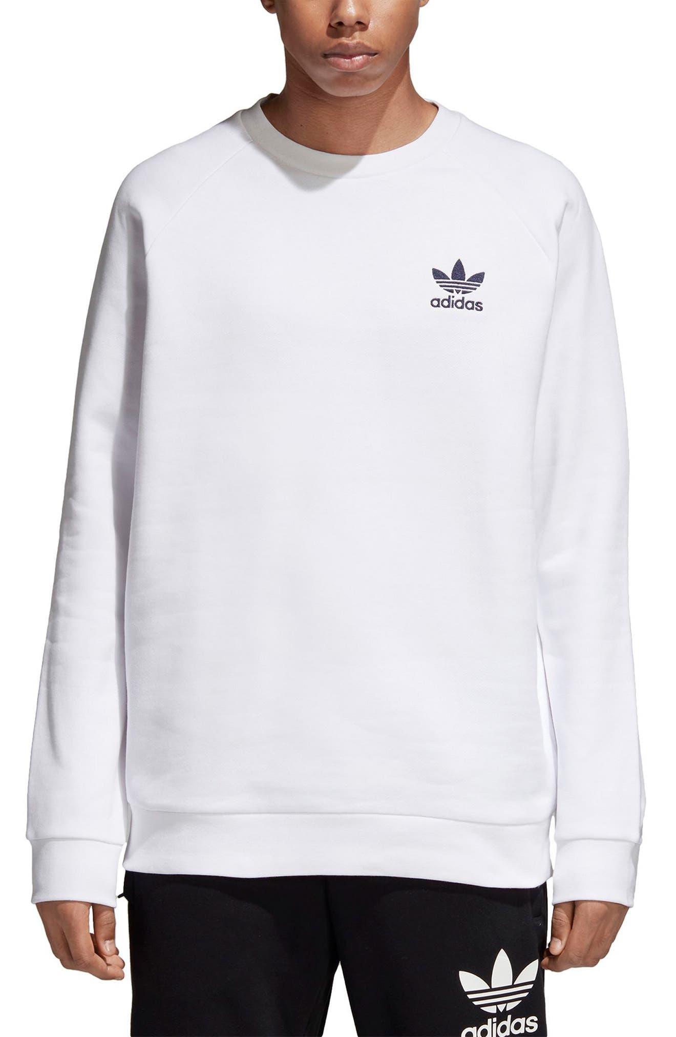 Ice Cream Sweatshirt,                         Main,                         color, White