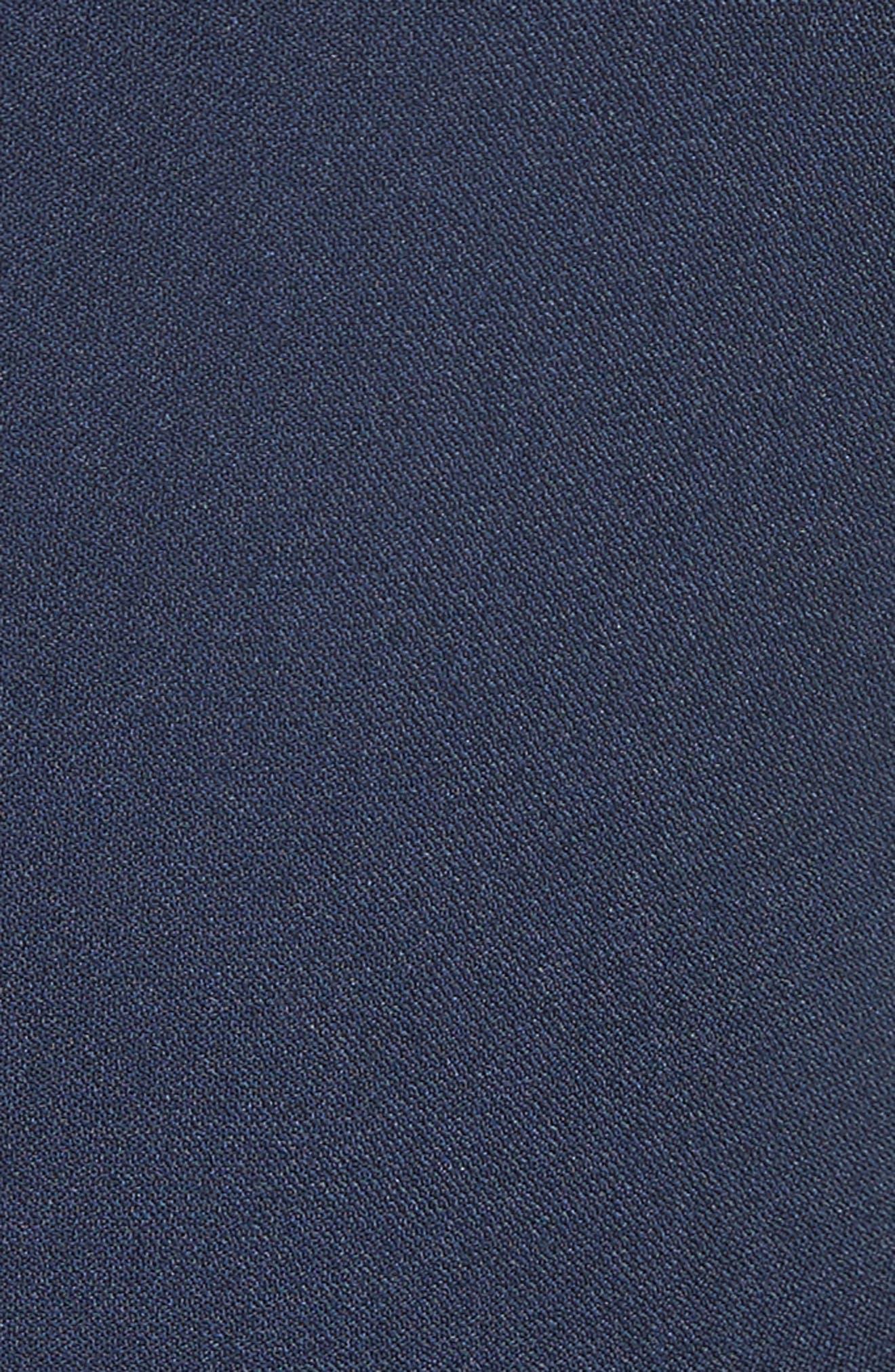 Aylin Bell Sleeve Dress,                             Alternate thumbnail 6, color,                             Squid Ink