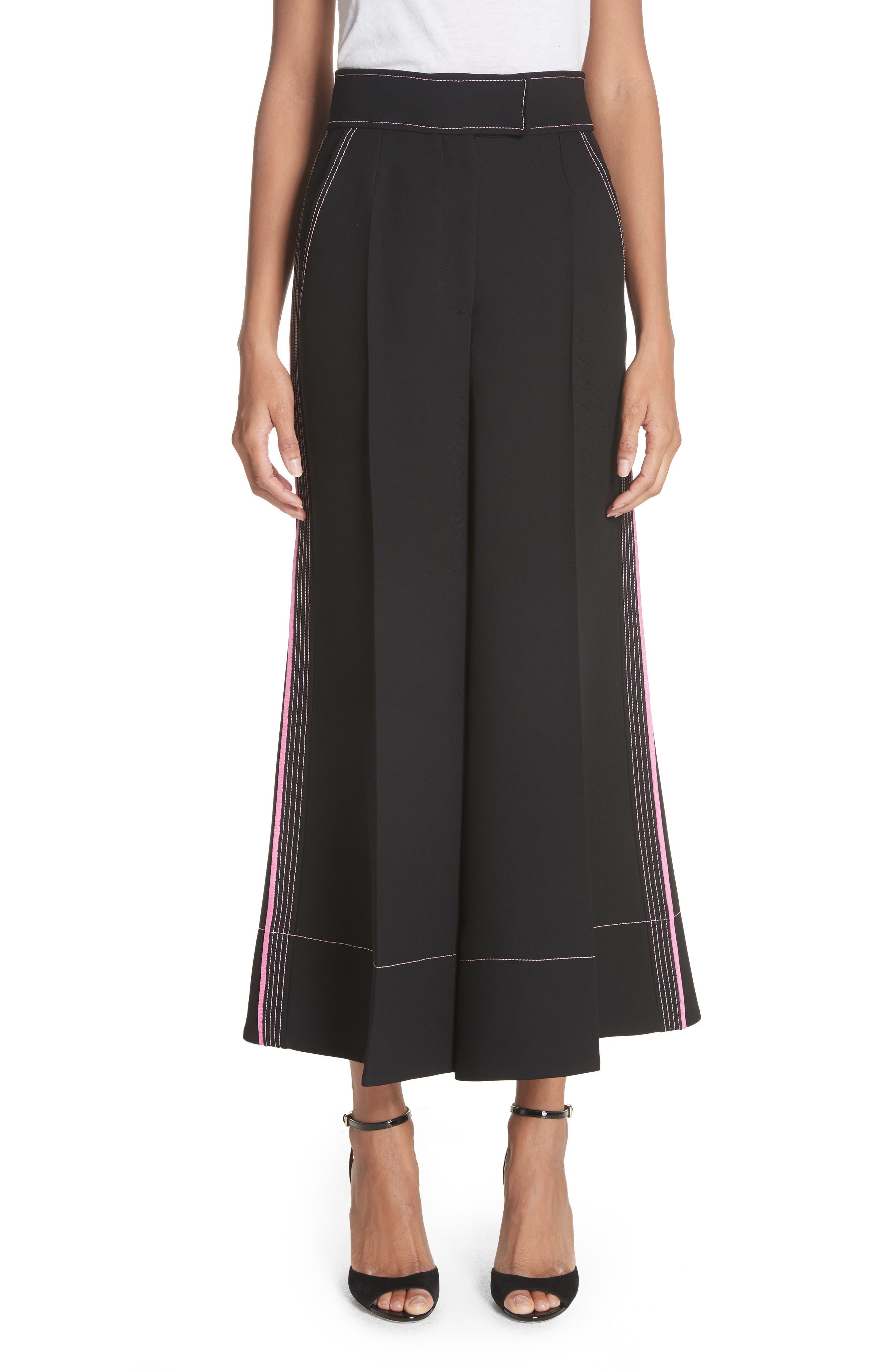 Hasani Wide Leg Pants,                         Main,                         color, Black