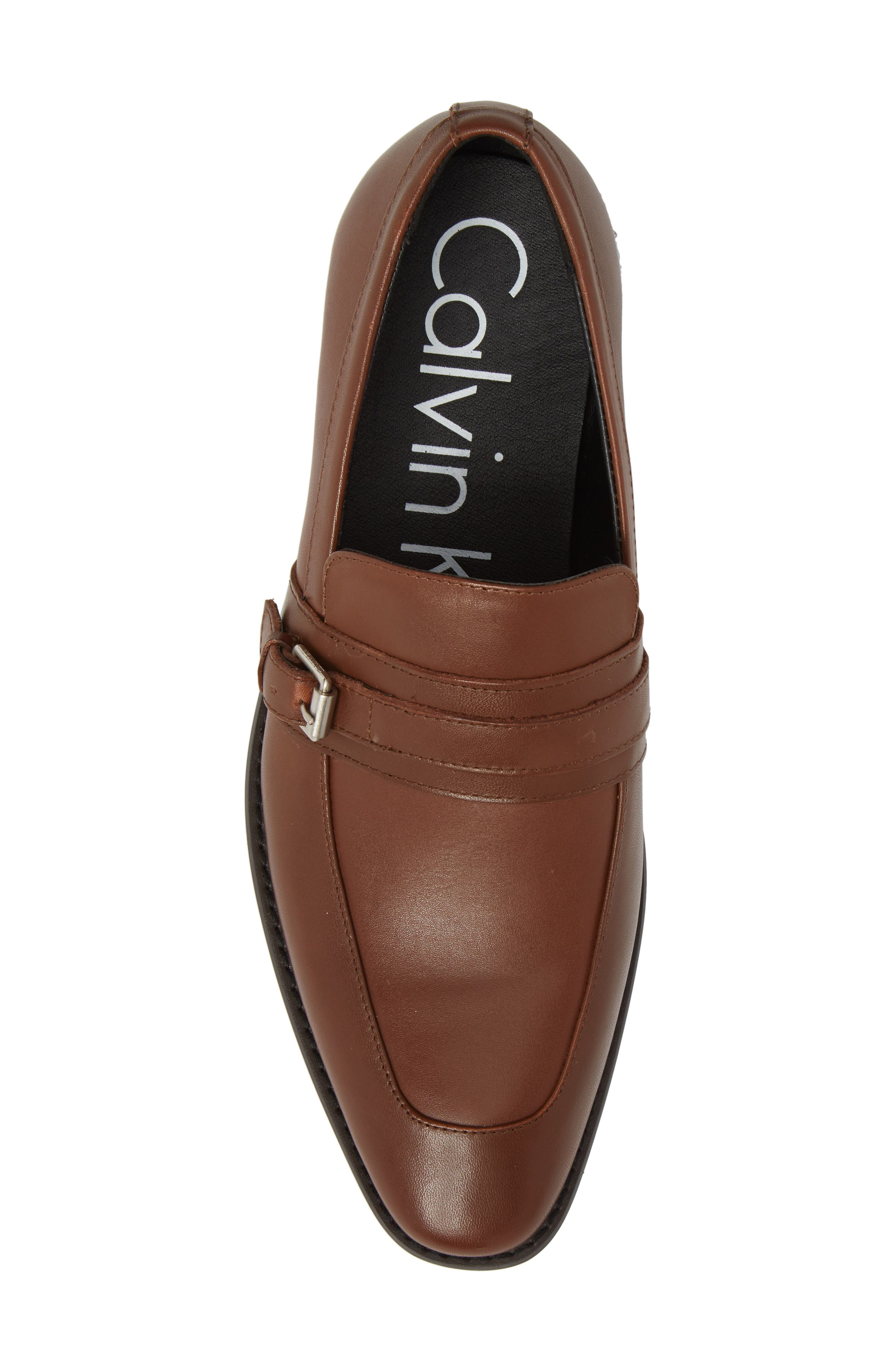 Reyes Loafer,                             Alternate thumbnail 5, color,                             Tan Leather