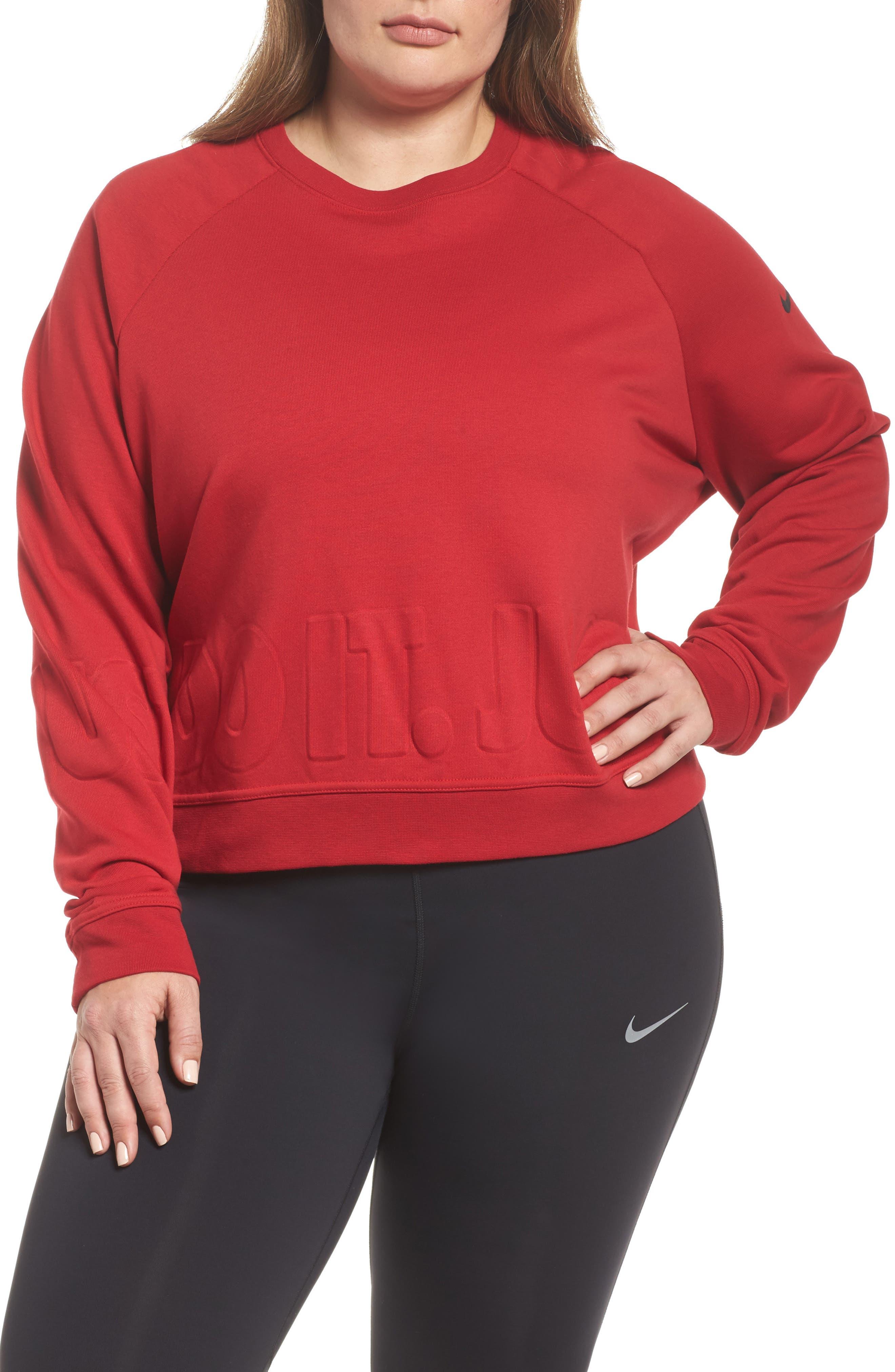 Dry Versa Training Top,                         Main,                         color, Gym Red/ Black