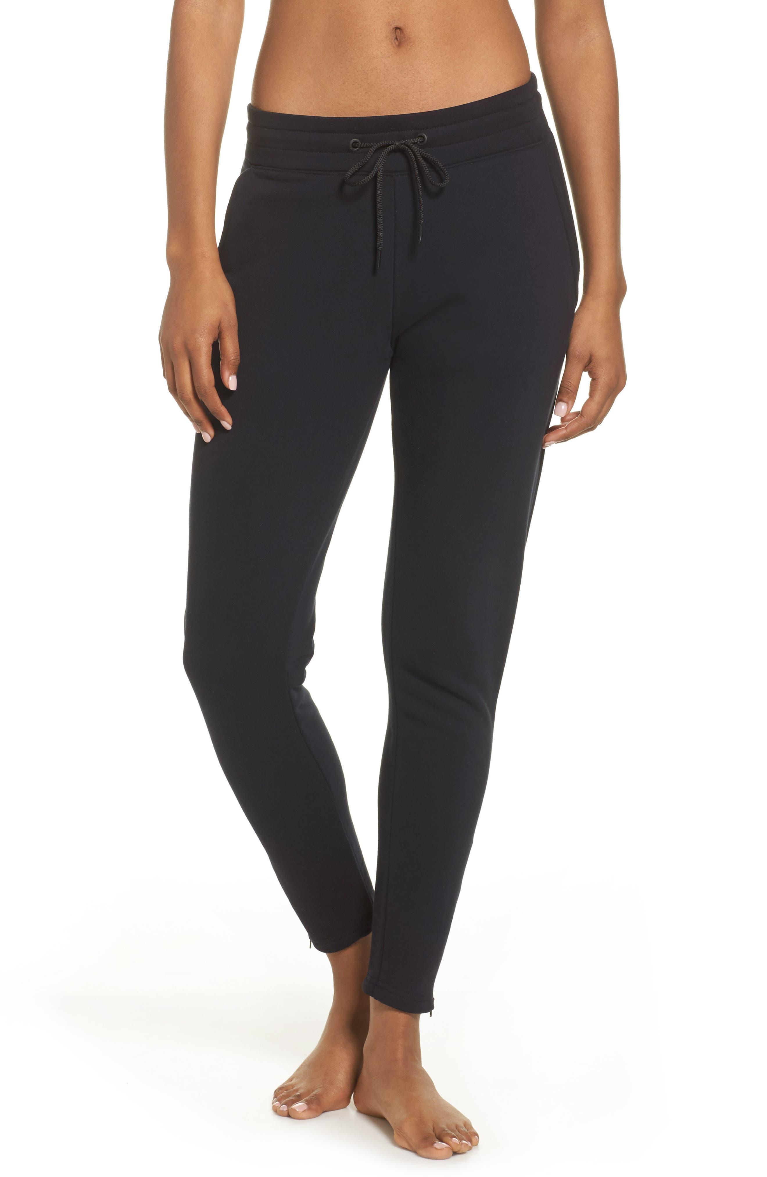 Finley Track Pants,                         Main,                         color, Black