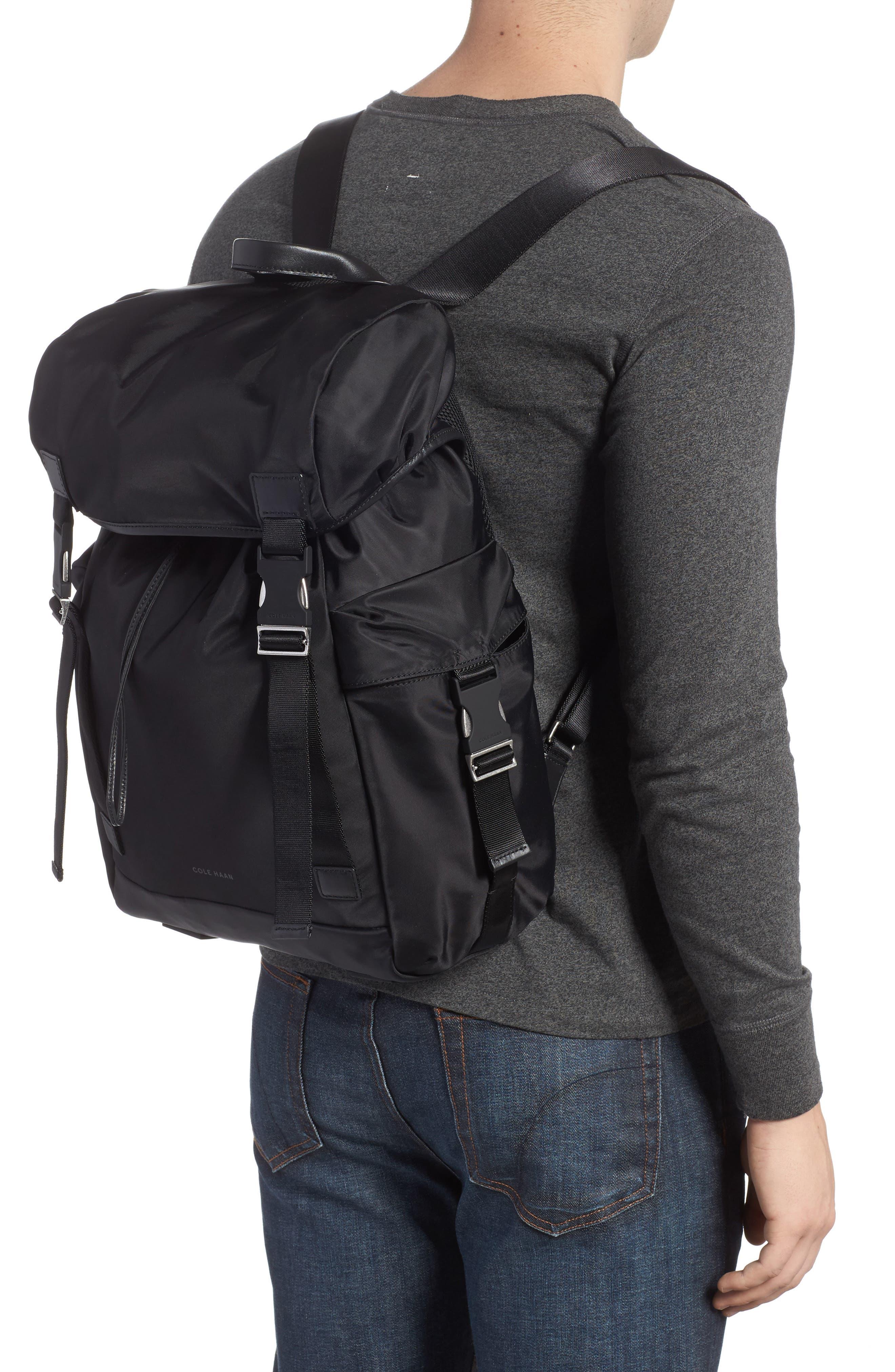 City Backpack,                             Alternate thumbnail 2, color,                             Black