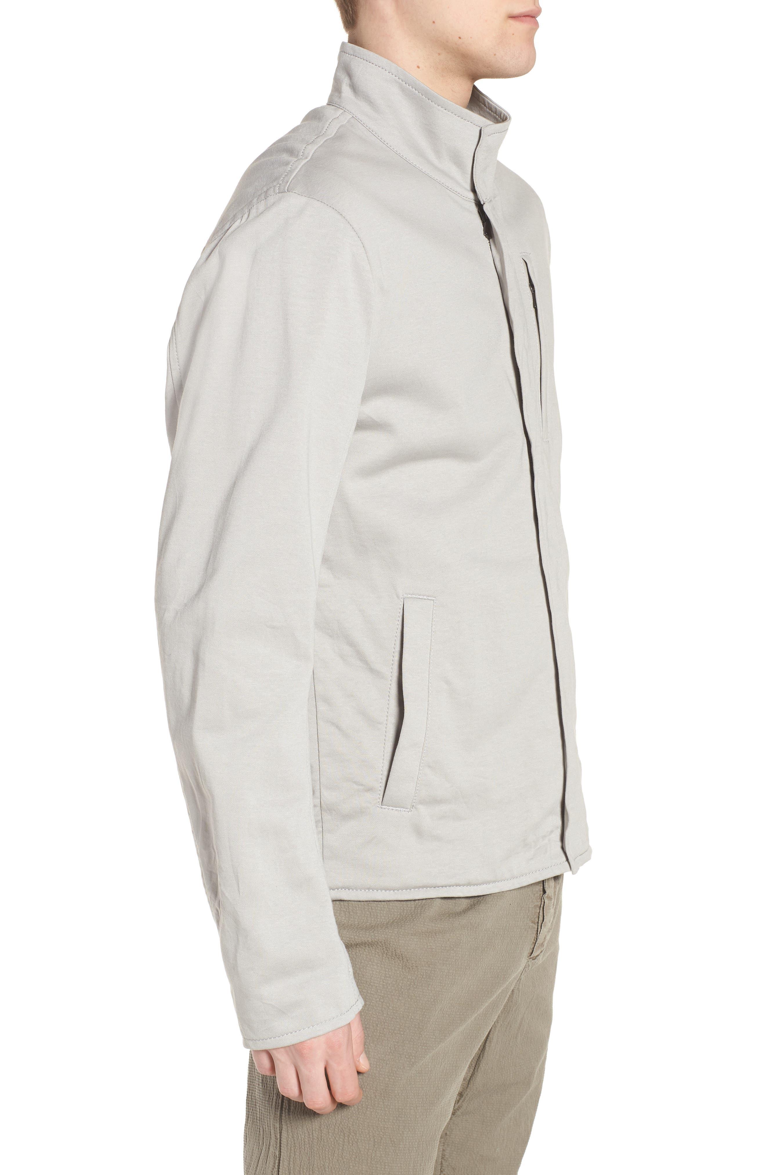 Alternate Image 3  - James Perse Classic Fit Biker Jacket