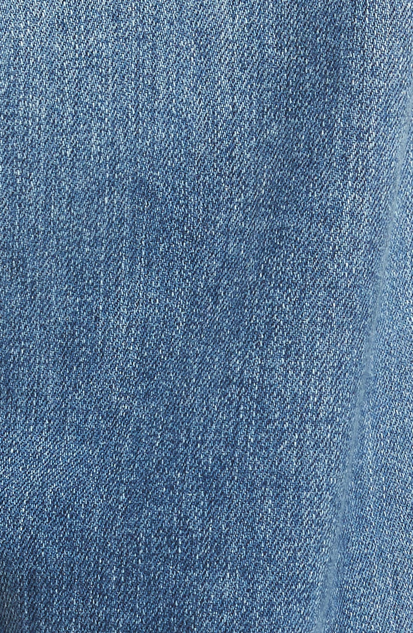 Ives Straight Leg Jeans,                             Alternate thumbnail 5, color,                             15 Years Aground
