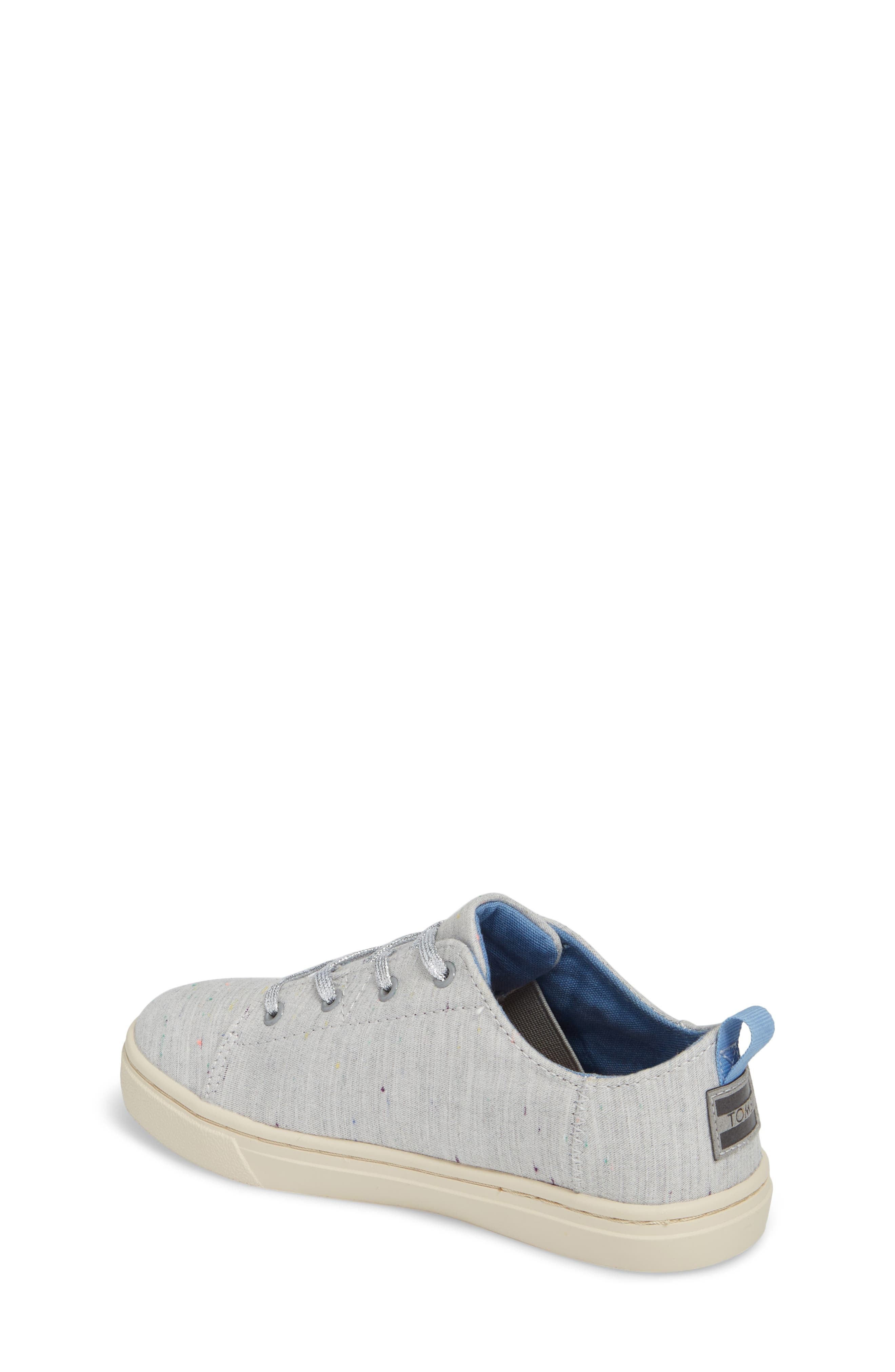 Lenny Embroidered Sneaker,                             Alternate thumbnail 2, color,                             Grey Multi Drizzly Weather