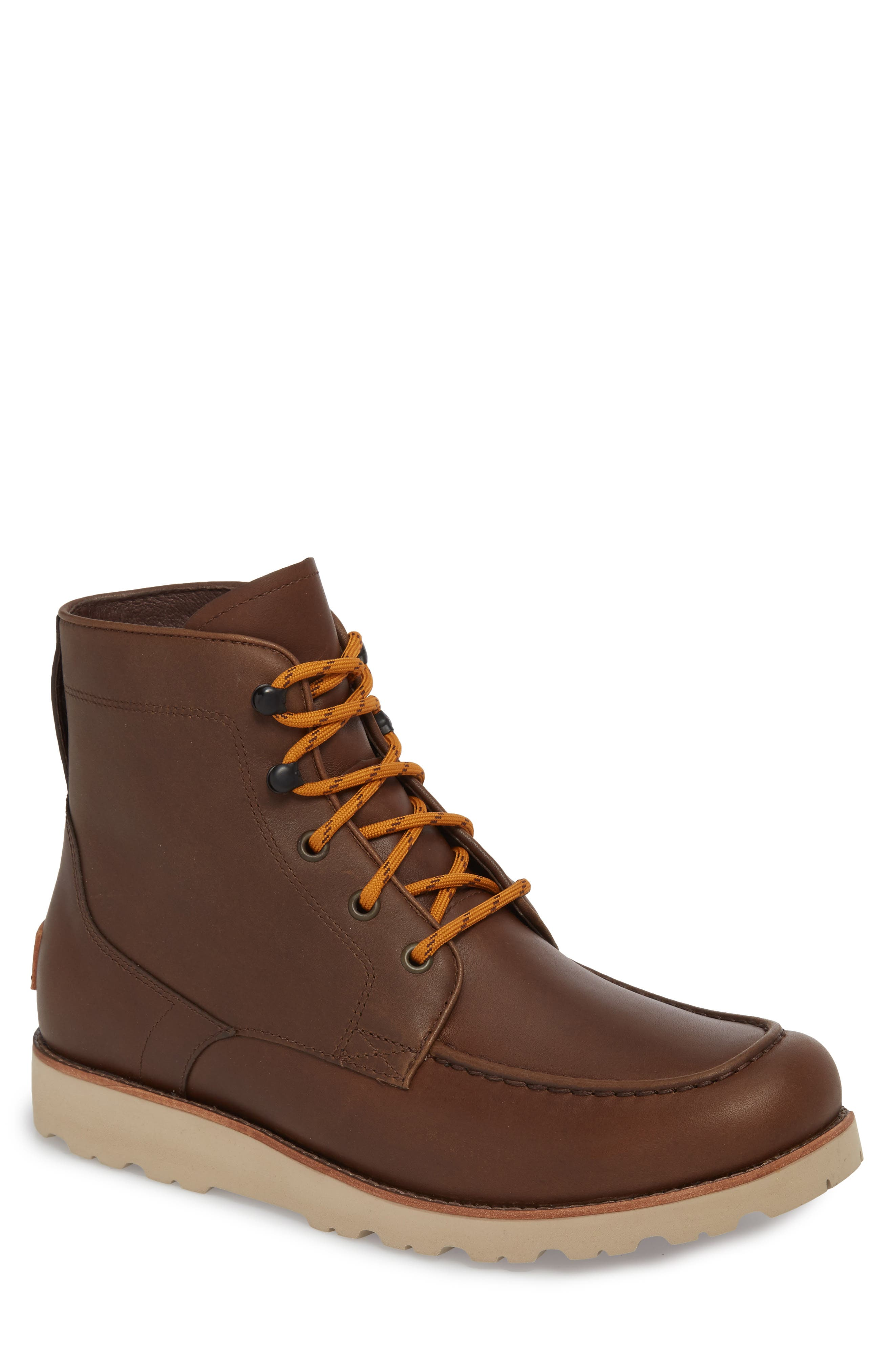 Agnar Moc Toe Boot,                         Main,                         color, Grizzly
