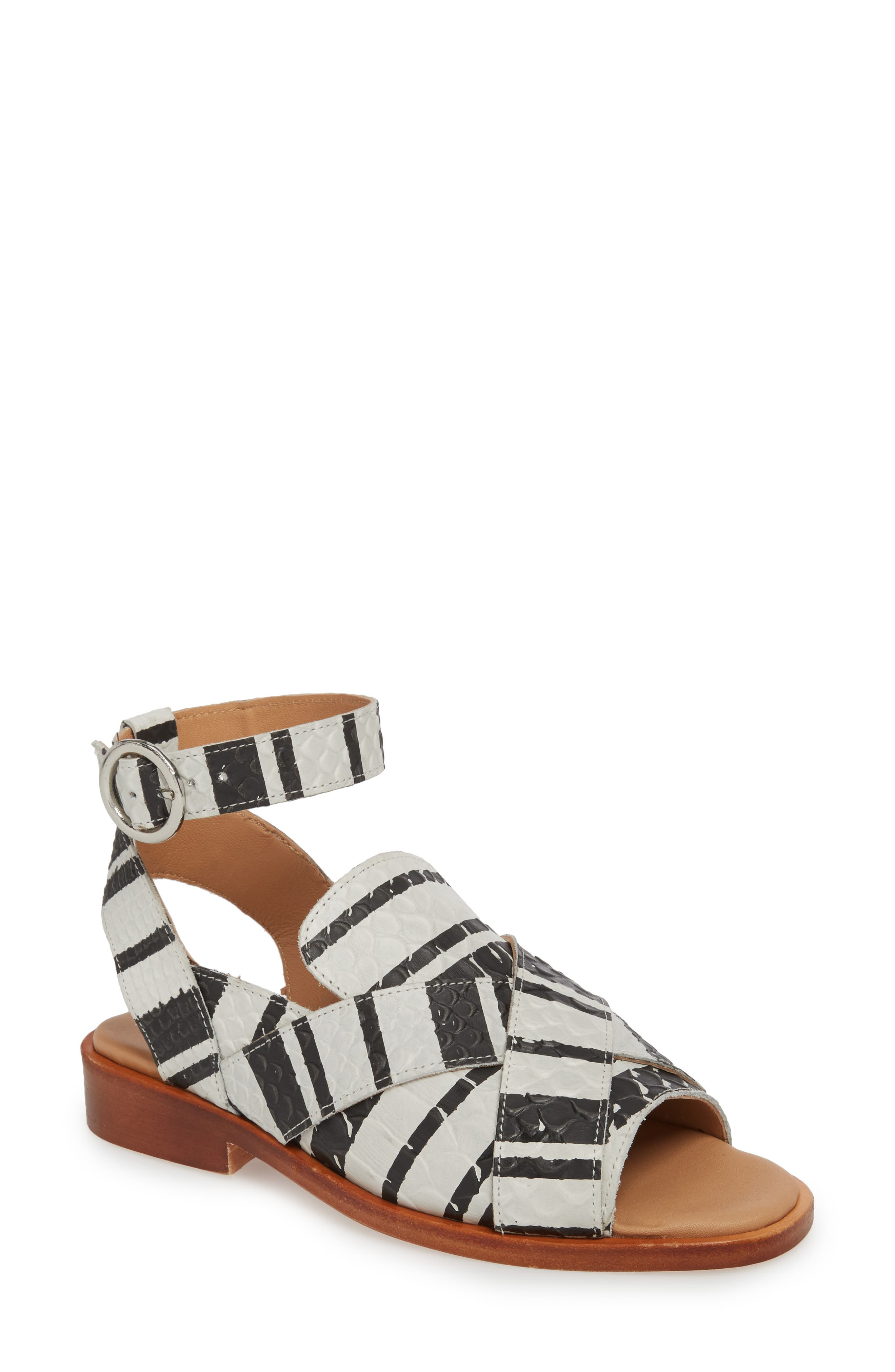 Free People Catherine Ankle Strap Sandal (Women)