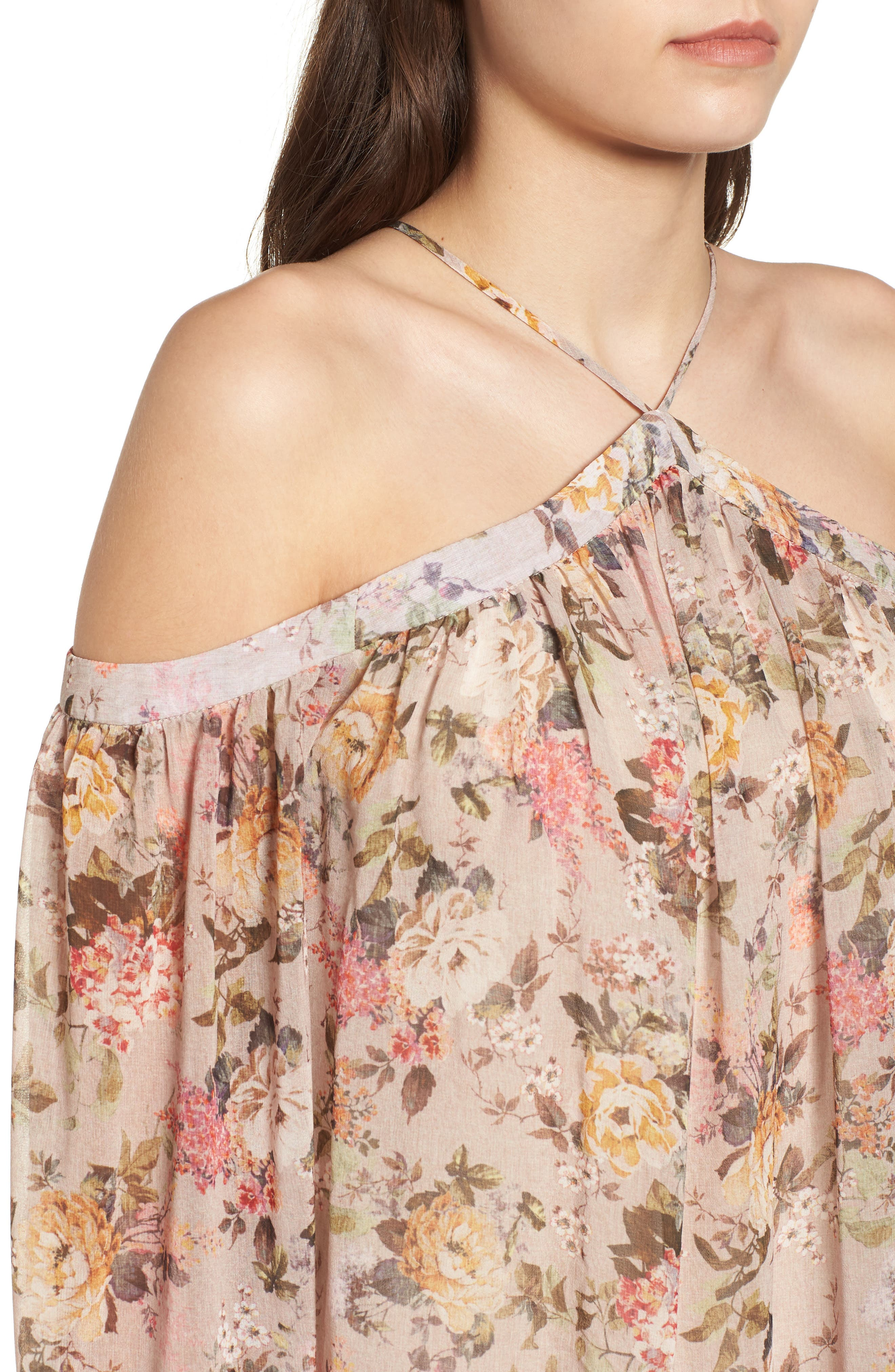 Inamorata Blouse,                             Alternate thumbnail 4, color,                             Blush