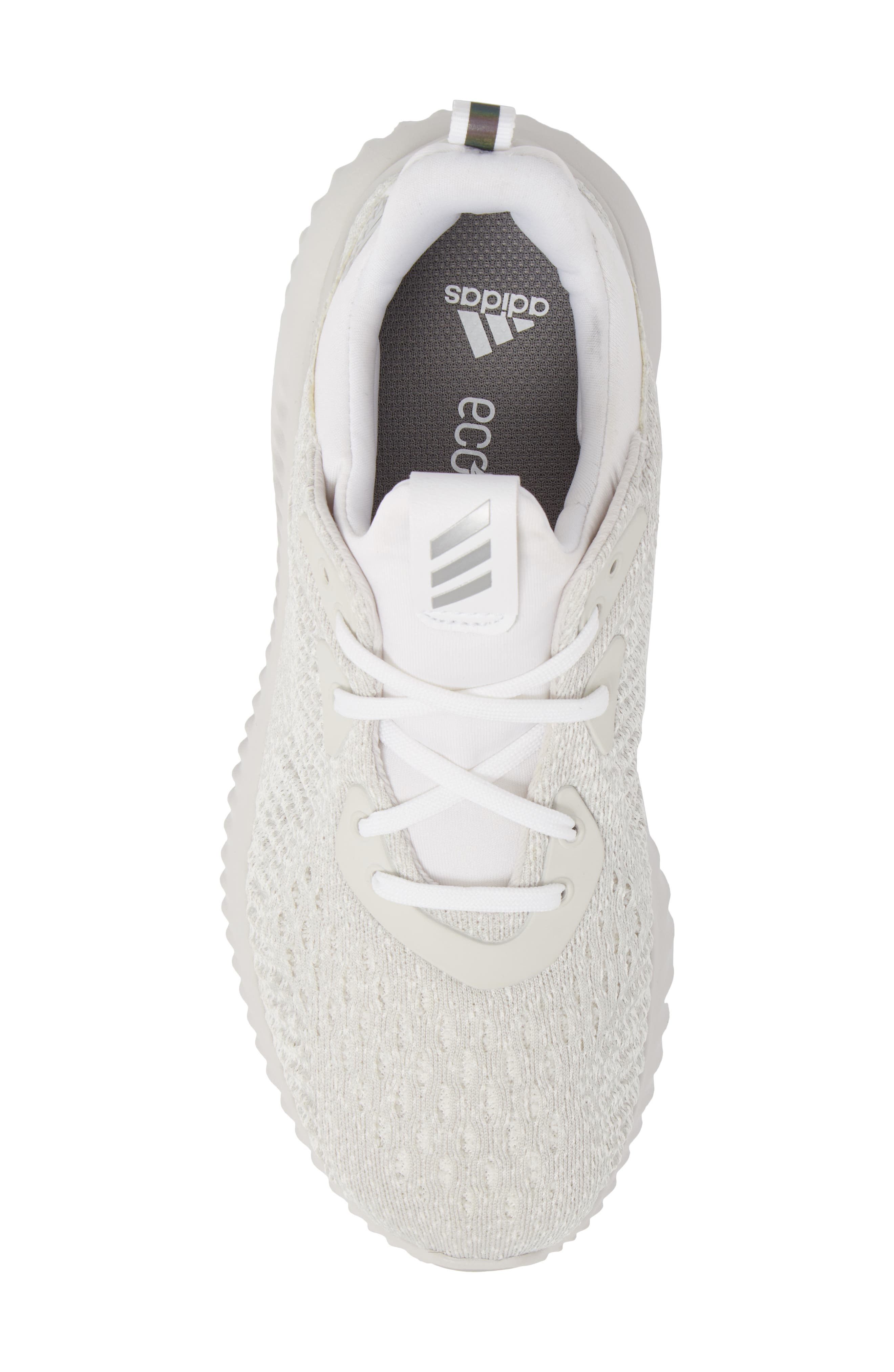 AlphaBounce EM Running Shoe,                             Alternate thumbnail 5, color,                             Grey / Silver Met / Non-Dyed