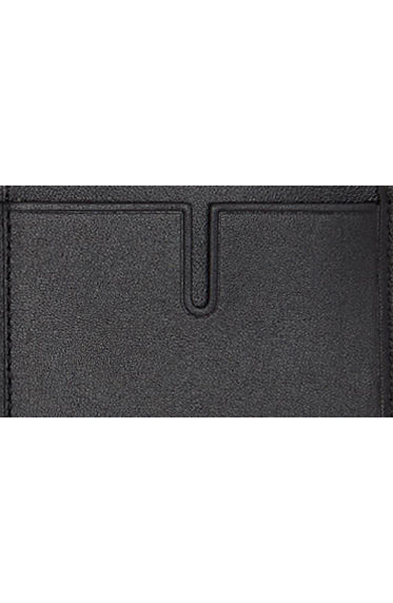 Alpha Folding Card Case,                             Alternate thumbnail 3, color,                             Anthracite/ Black