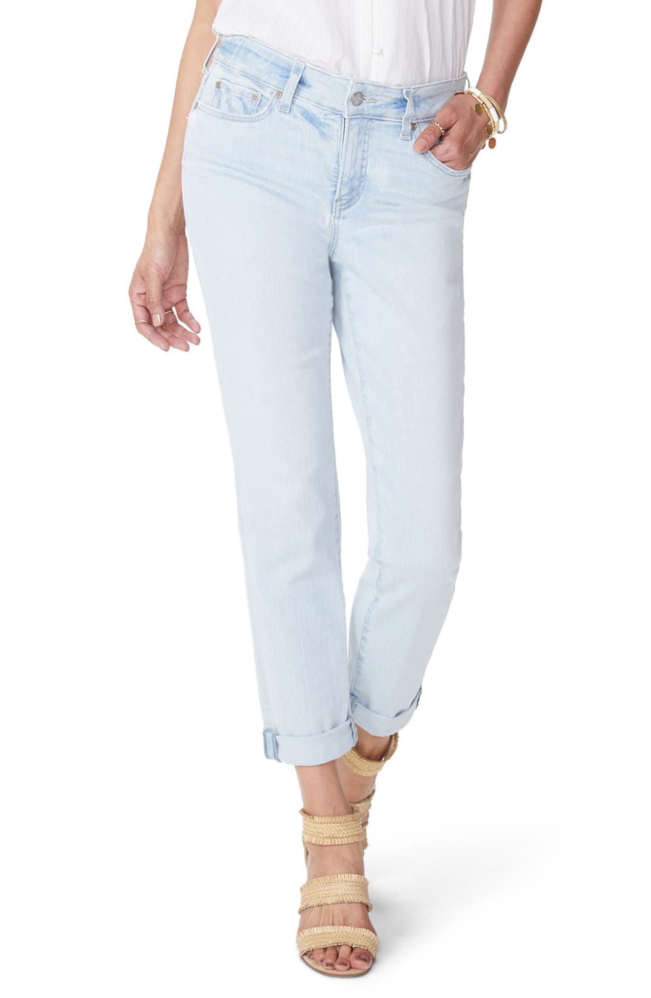 Stretch Boyfriend Jeans,                             Main thumbnail 1, color,                             Palm Desert