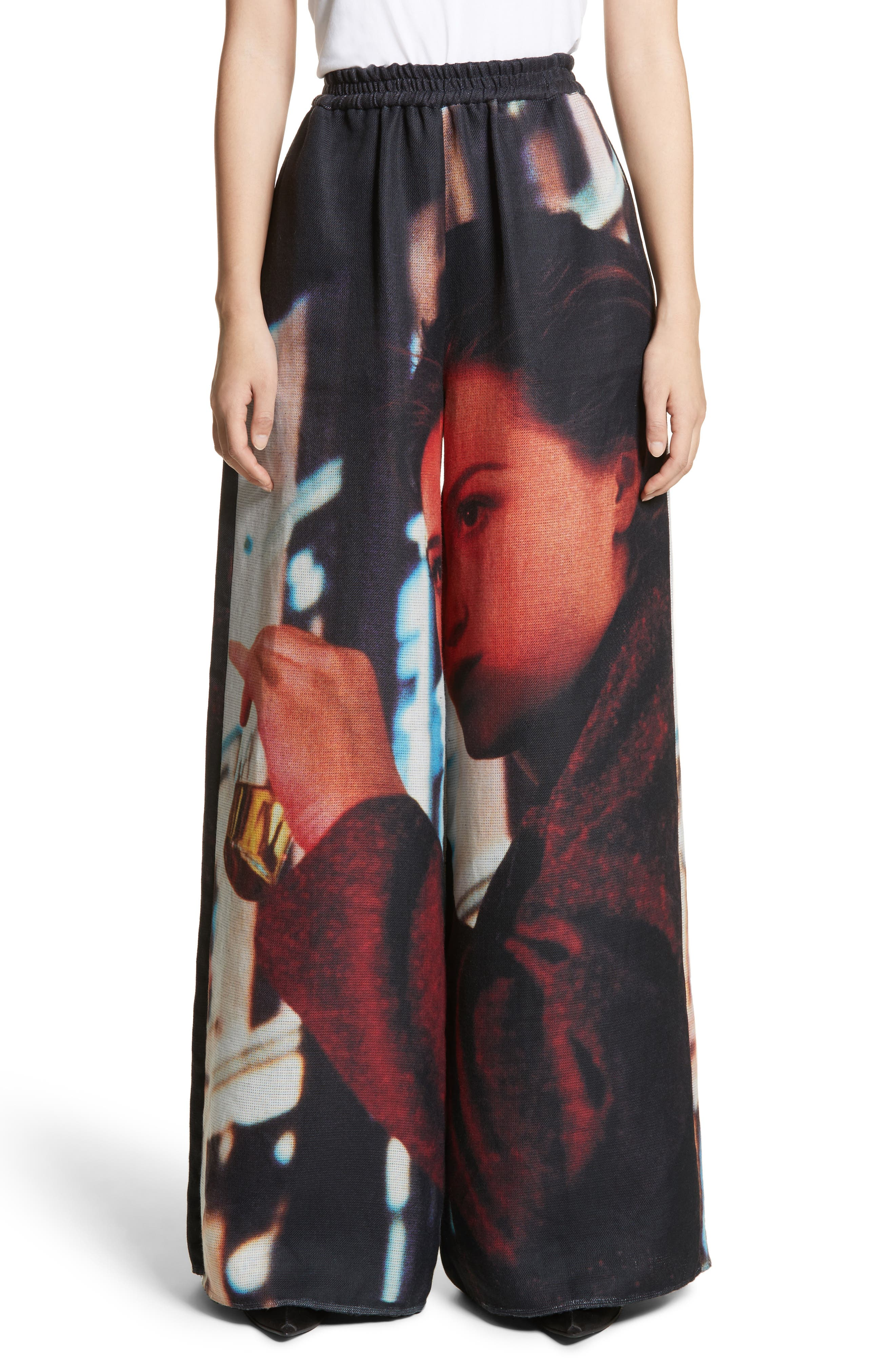 Undercover Reversible Print Pants