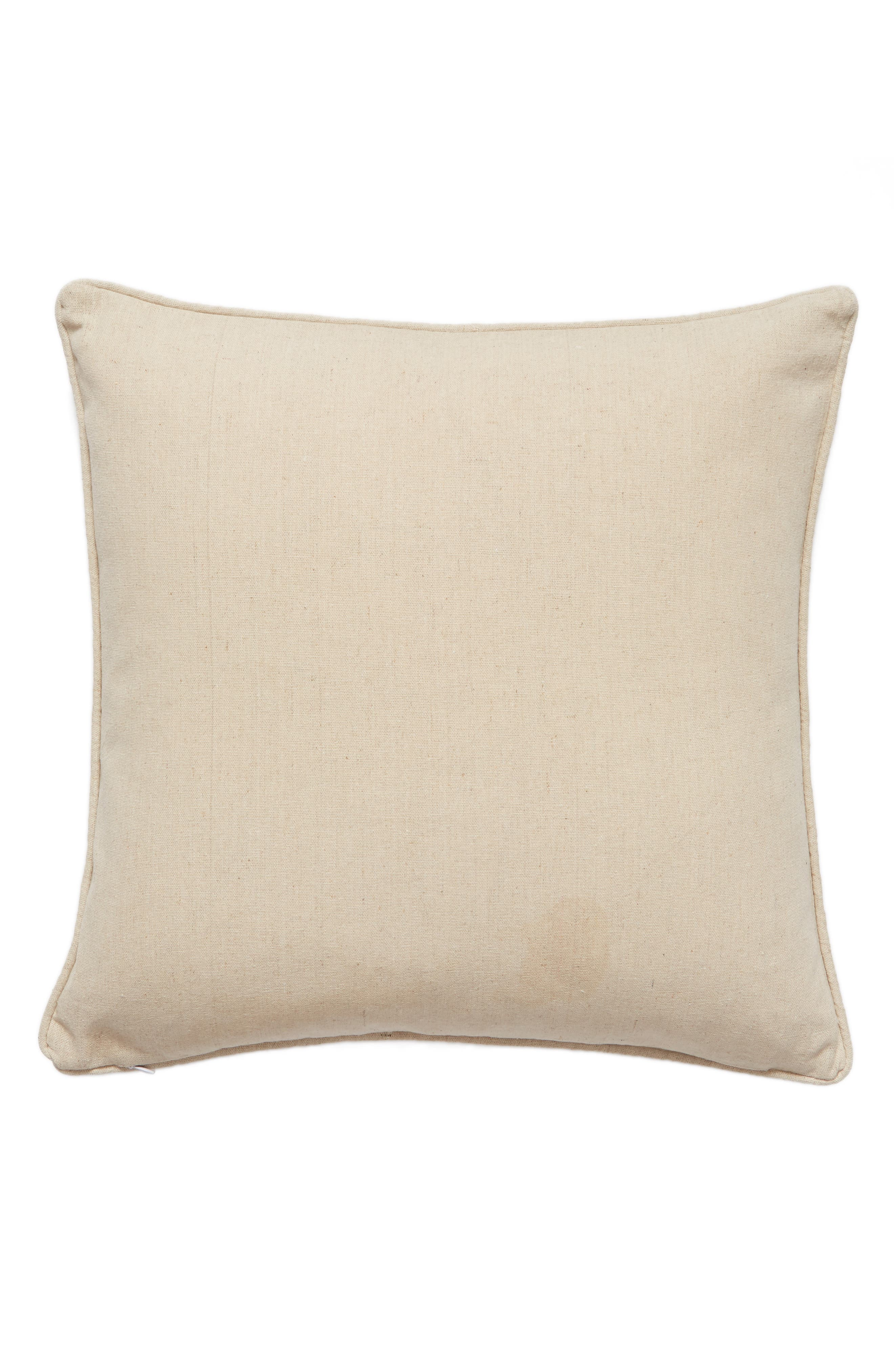To the World You Are a Mother Accent Pillow,                             Alternate thumbnail 2, color,                             Taupe