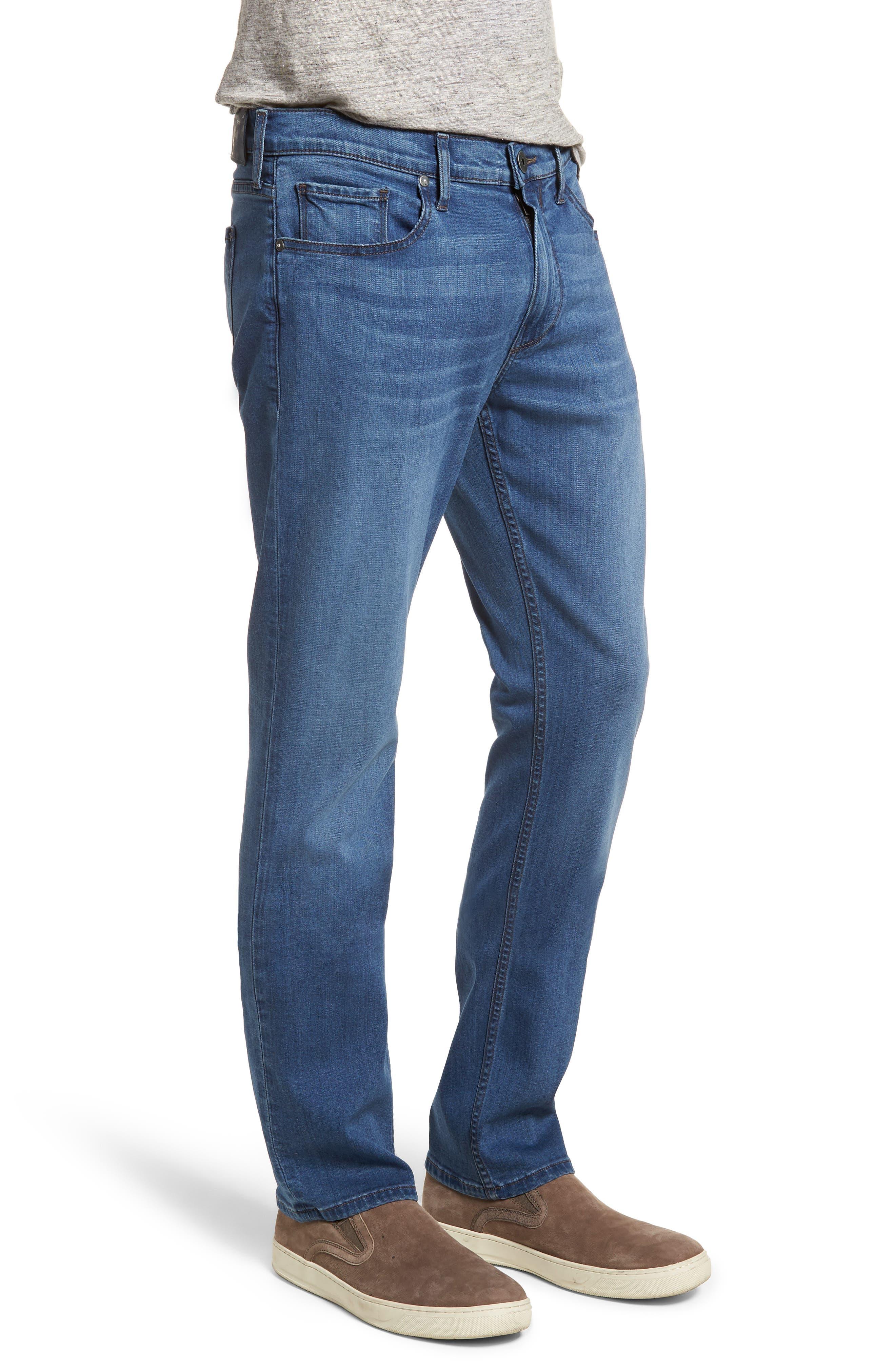 Federal Slim Straight Leg Jeans,                             Alternate thumbnail 3, color,                             Ellice