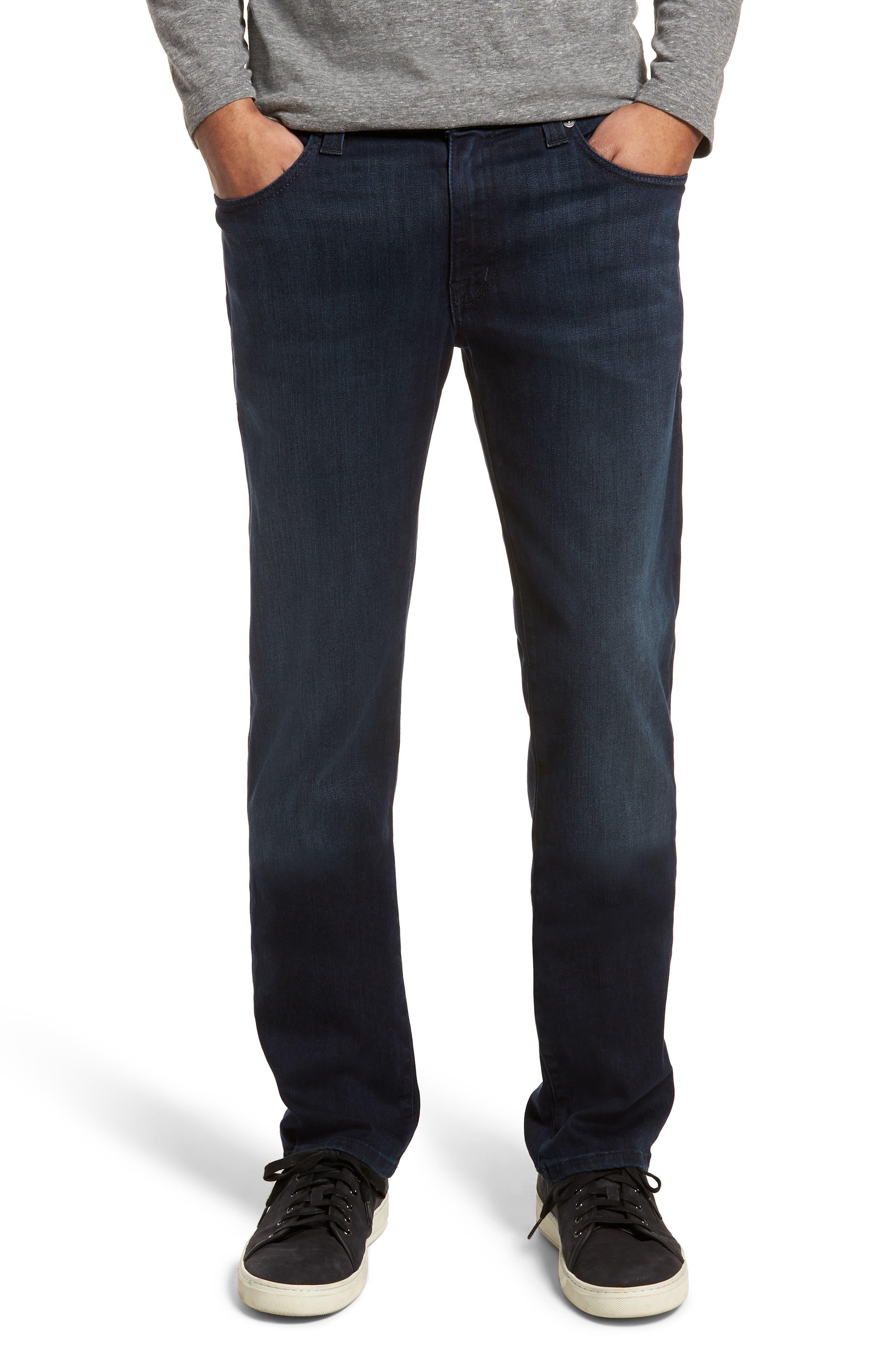 Fidelity Denim Jimmy Slim Straight Fit Jeans (Fade To Blue)