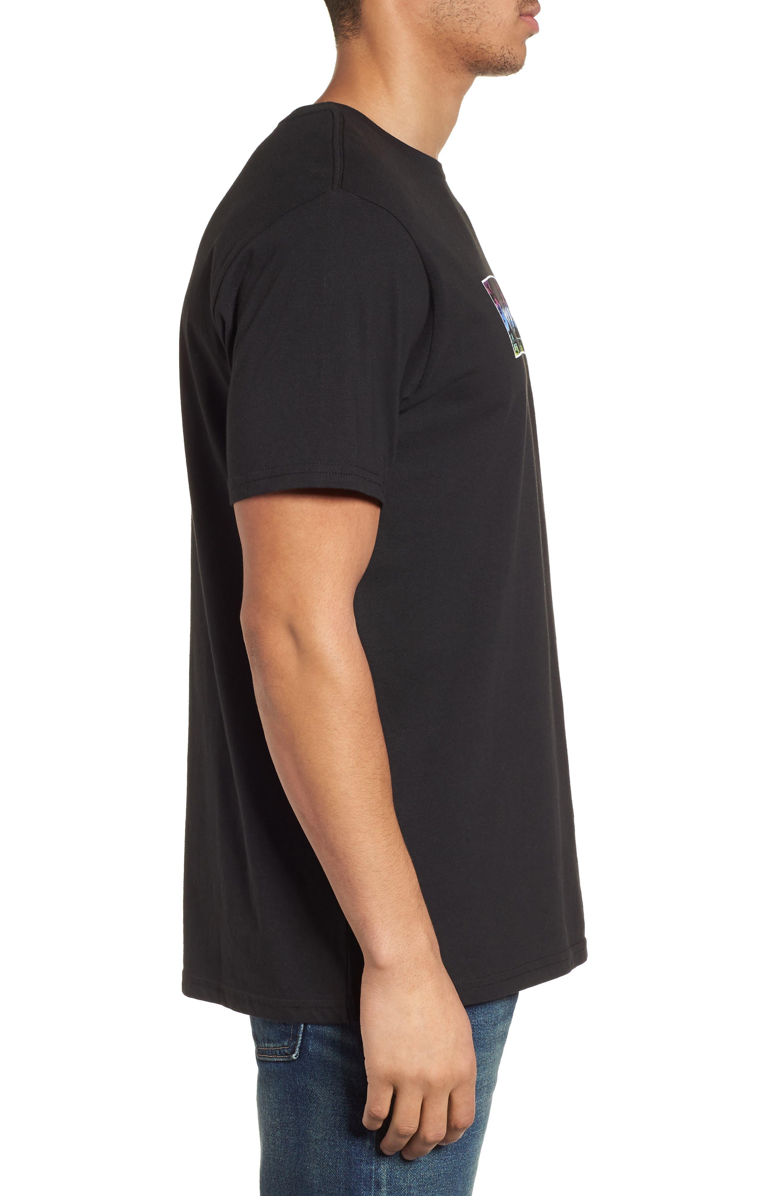 United Graphic T-Shirt,                             Alternate thumbnail 3, color,                             Black