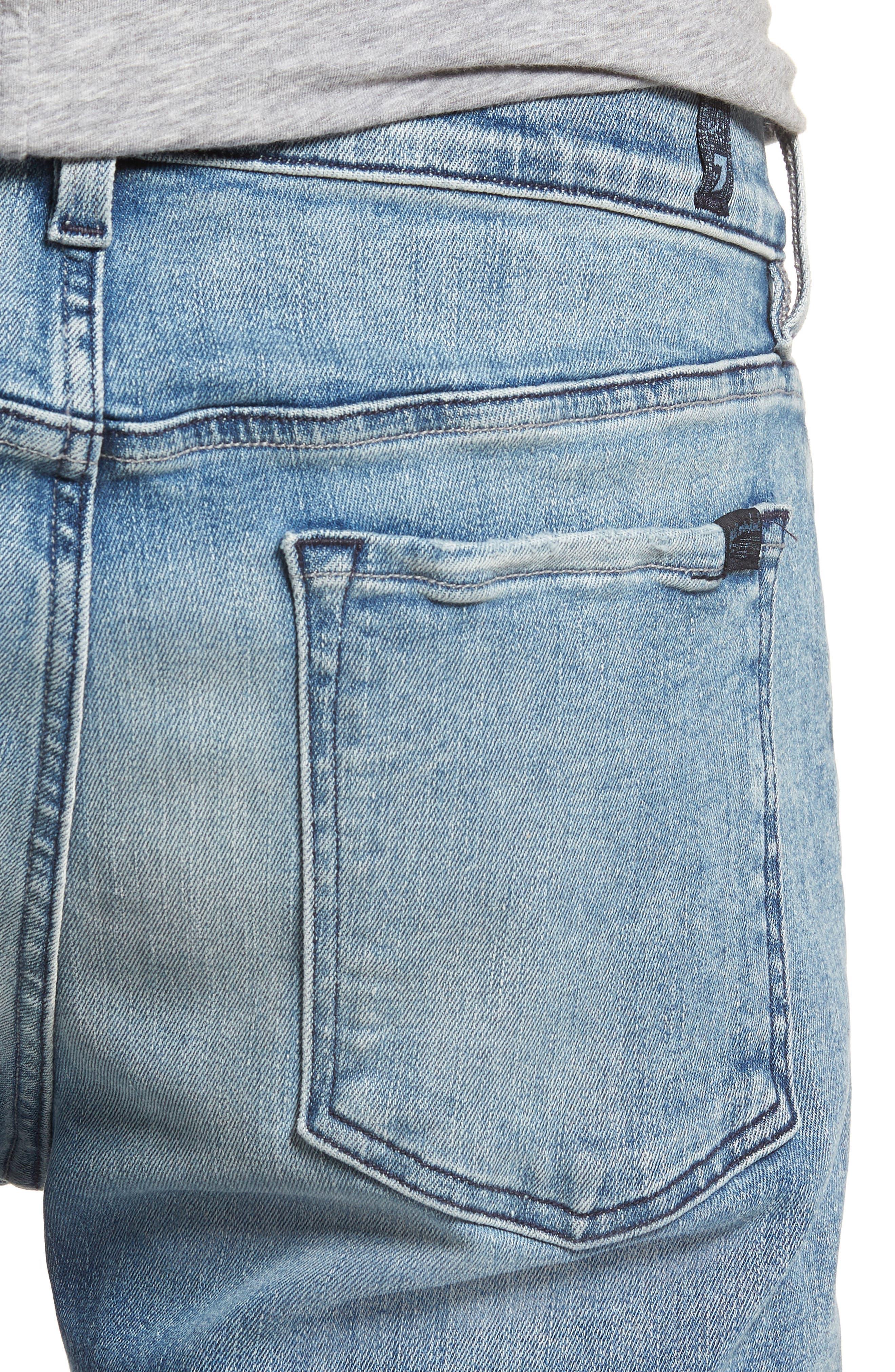 Adrien Slim Fit Jeans,                             Alternate thumbnail 4, color,                             Death Valley