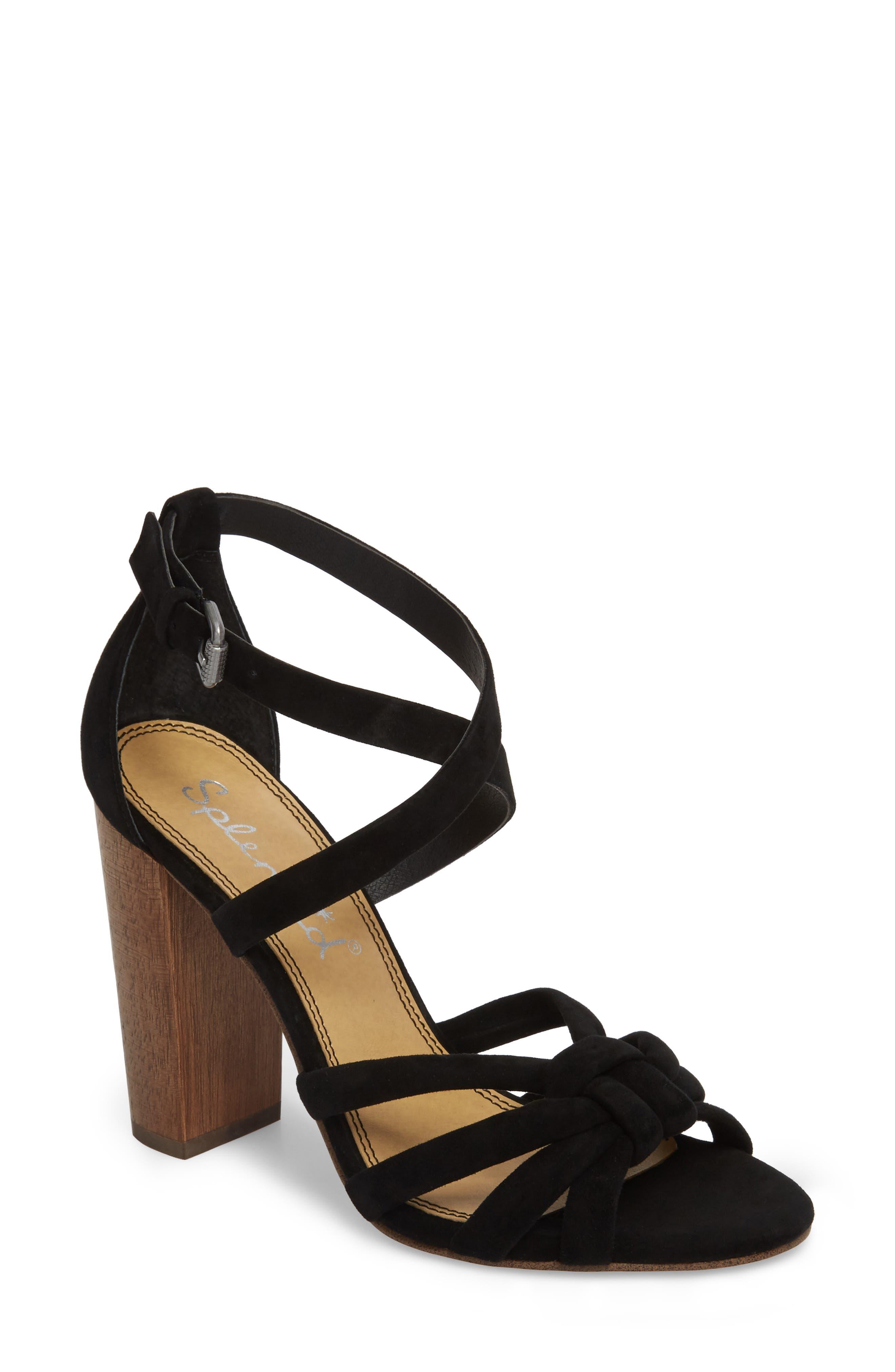 Splendid Women's Faris Block Heel Sandal 0XFa5Gvaa