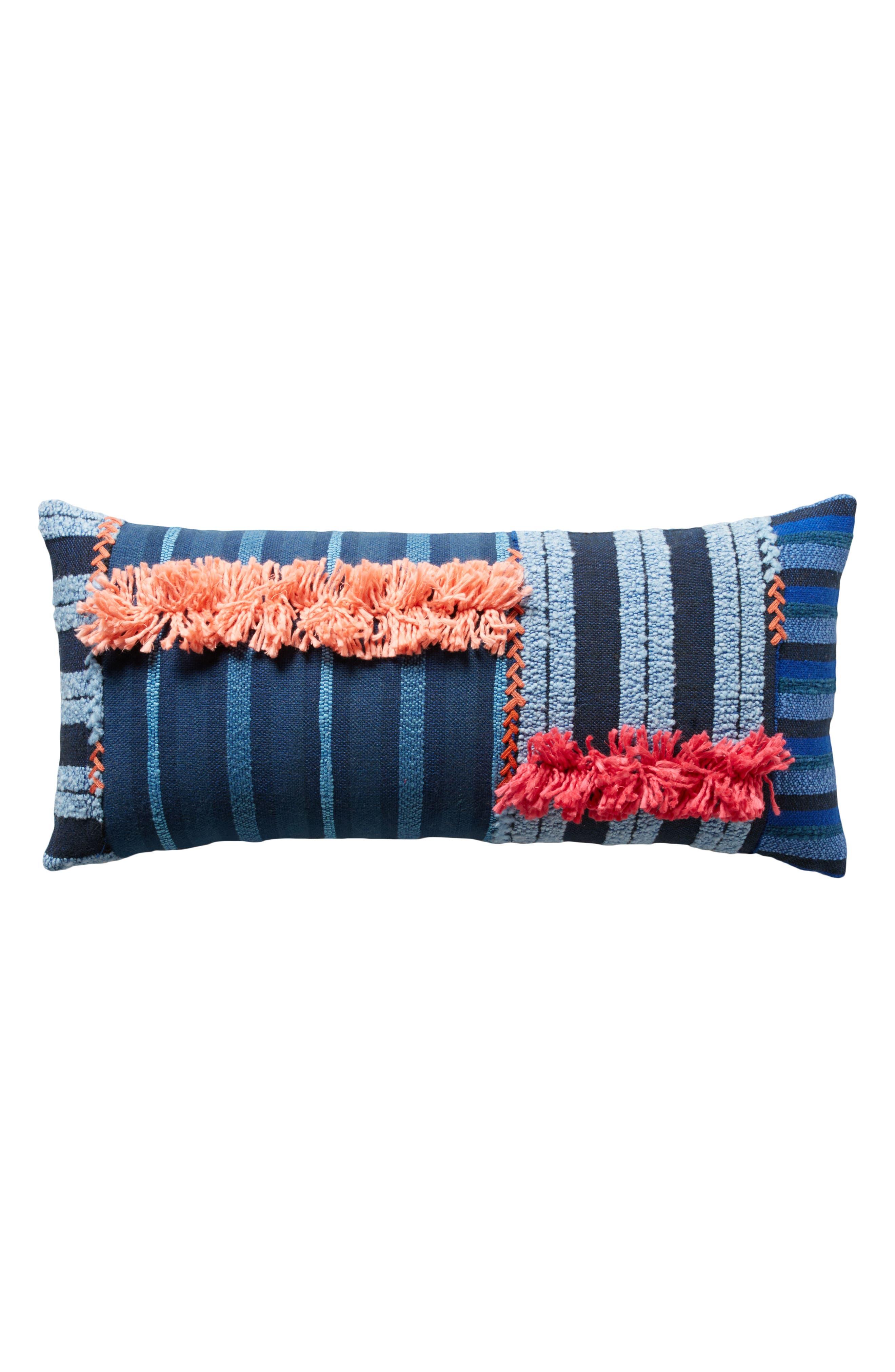 Yoursa Accent Pillow,                             Alternate thumbnail 6, color,                             Blue