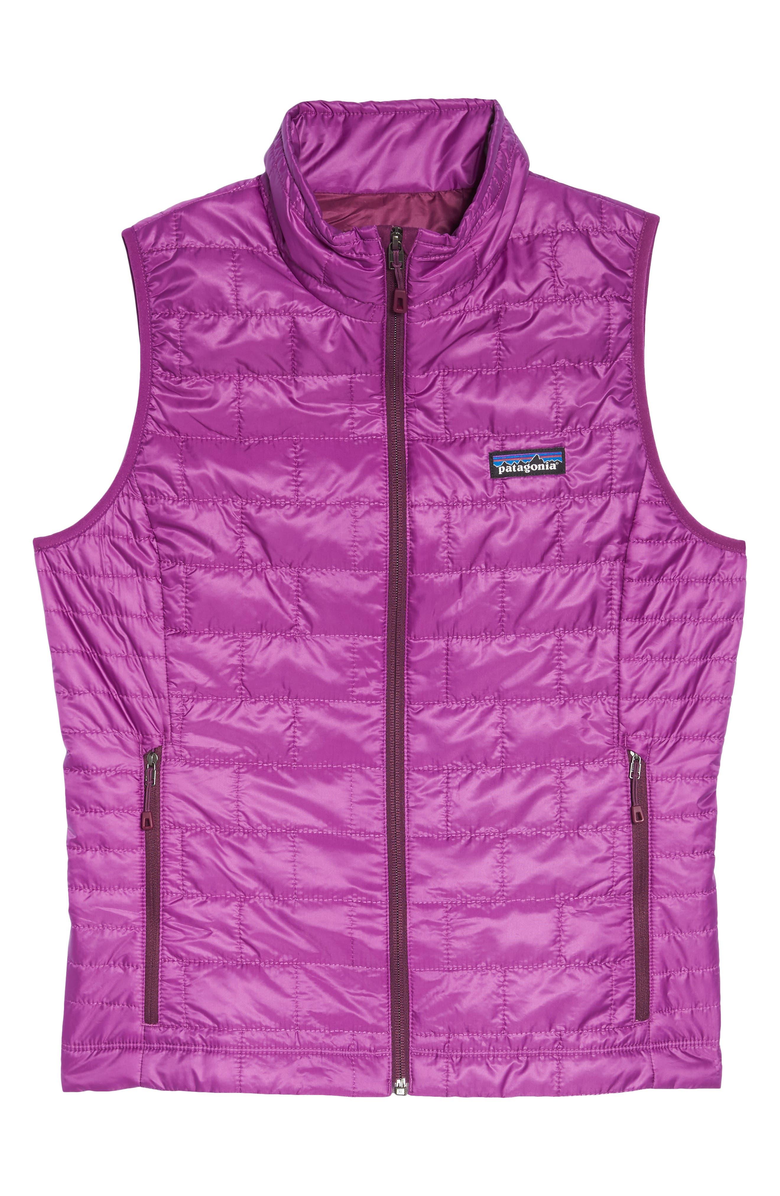 'Nano Puff<sup>®</sup>' Insulated Vest,                             Alternate thumbnail 7, color,                             Ikat Purple