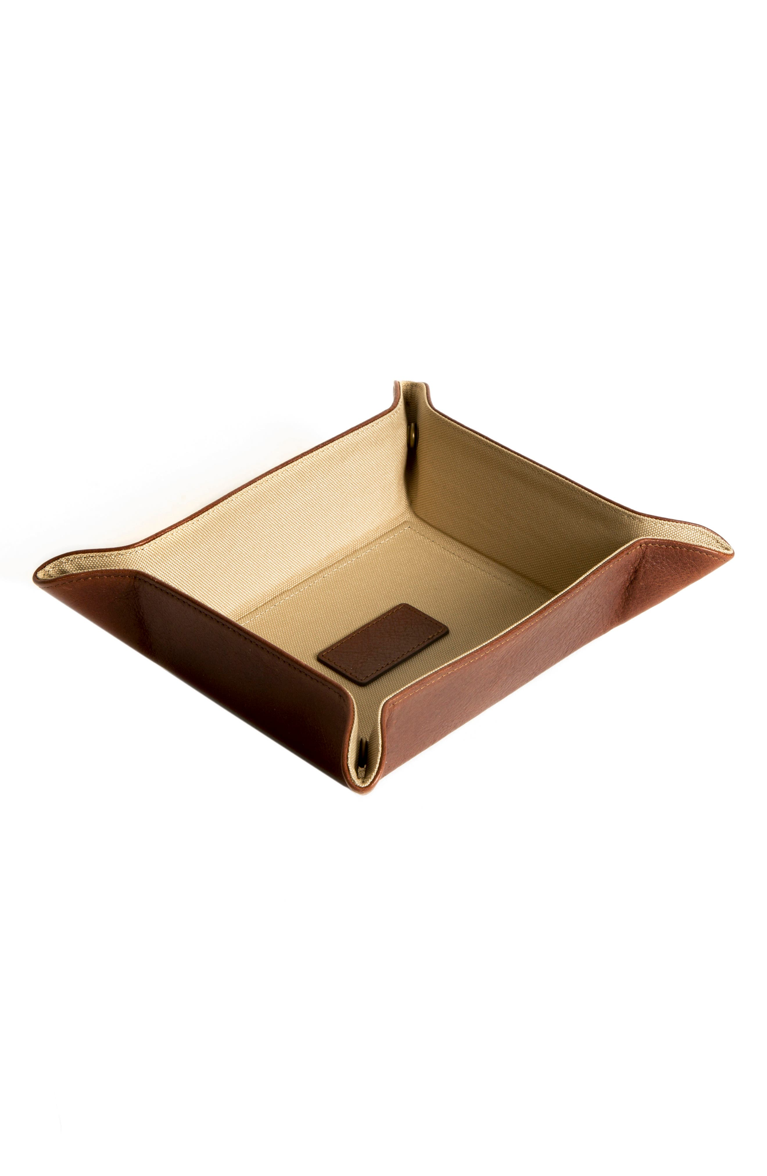 Becker Catchall Tray,                             Main thumbnail 1, color,                             Whiskey