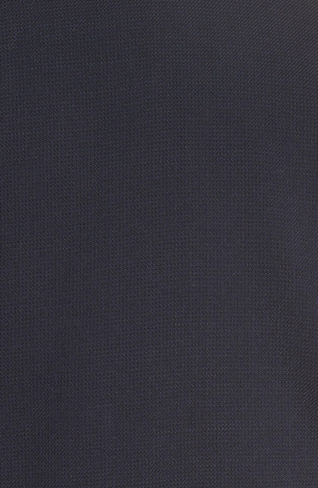 Faux Wrap Dress,                             Alternate thumbnail 5, color,                             Navy