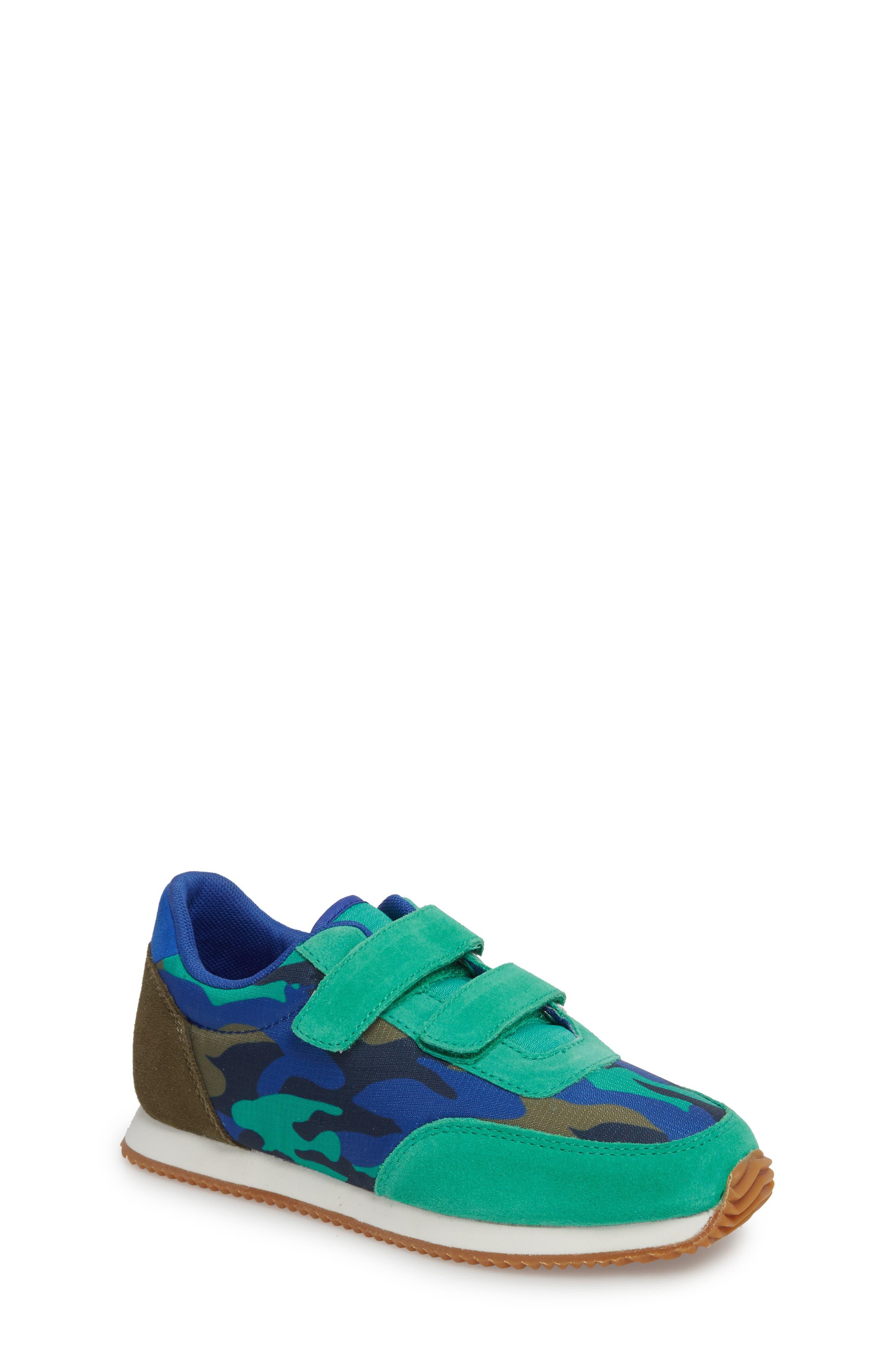 Print Sneakers,                         Main,                         color, Astro Green