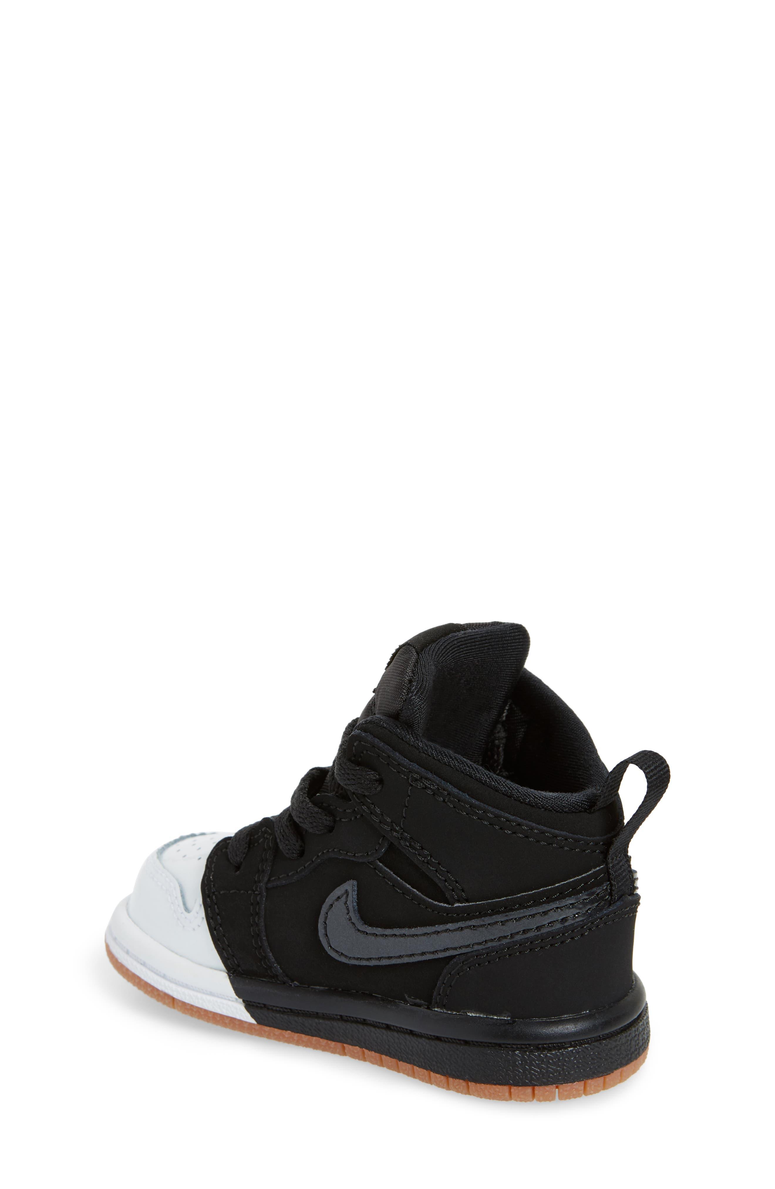 Alternate Image 2  - Nike 'Jordan 1 Mid' Basketball Shoe (Walker)