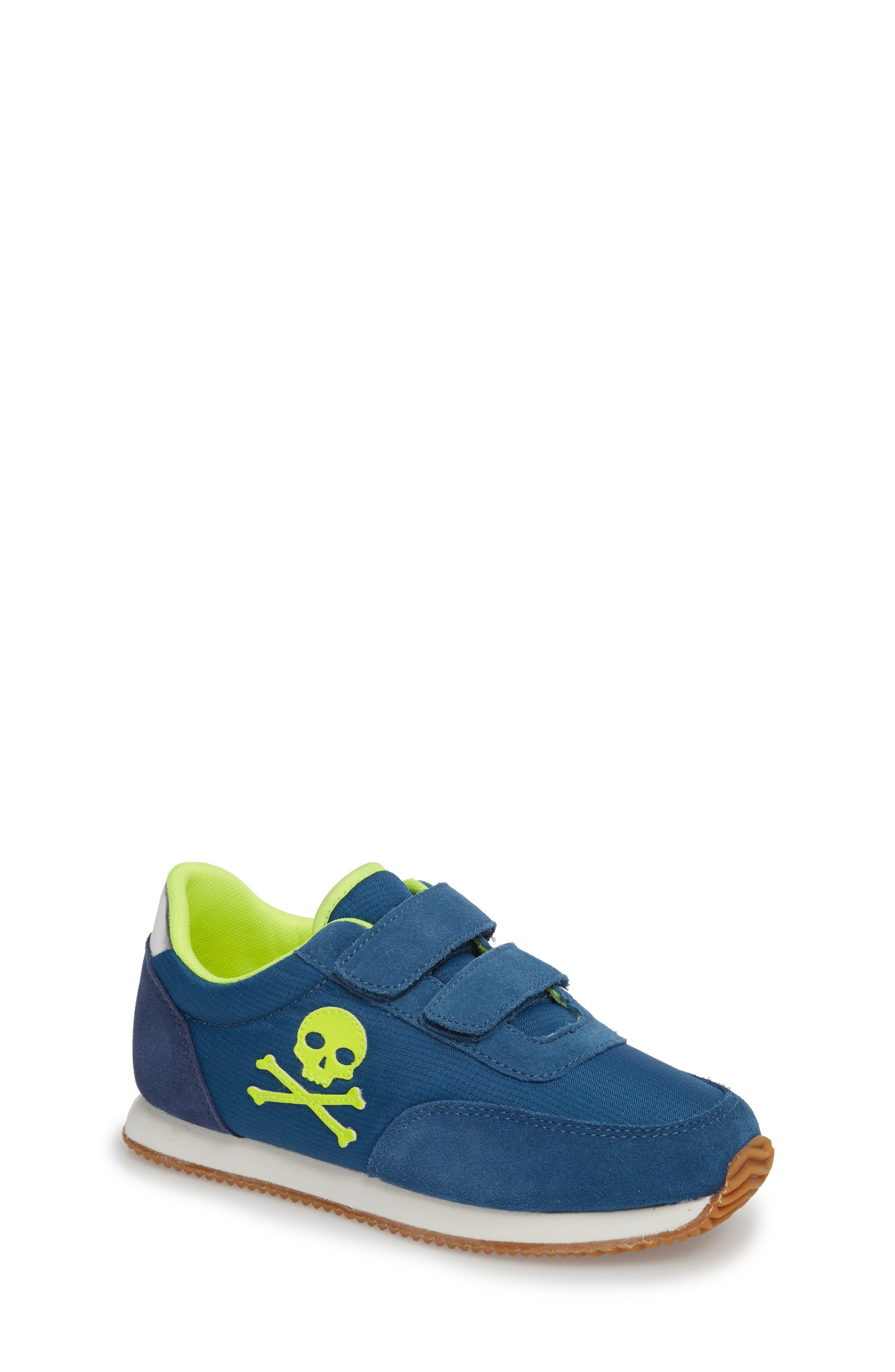 Alternate Image 1 Selected - Mini Boden Print Sneakers (Toddler, Little Kid & Big Kid)