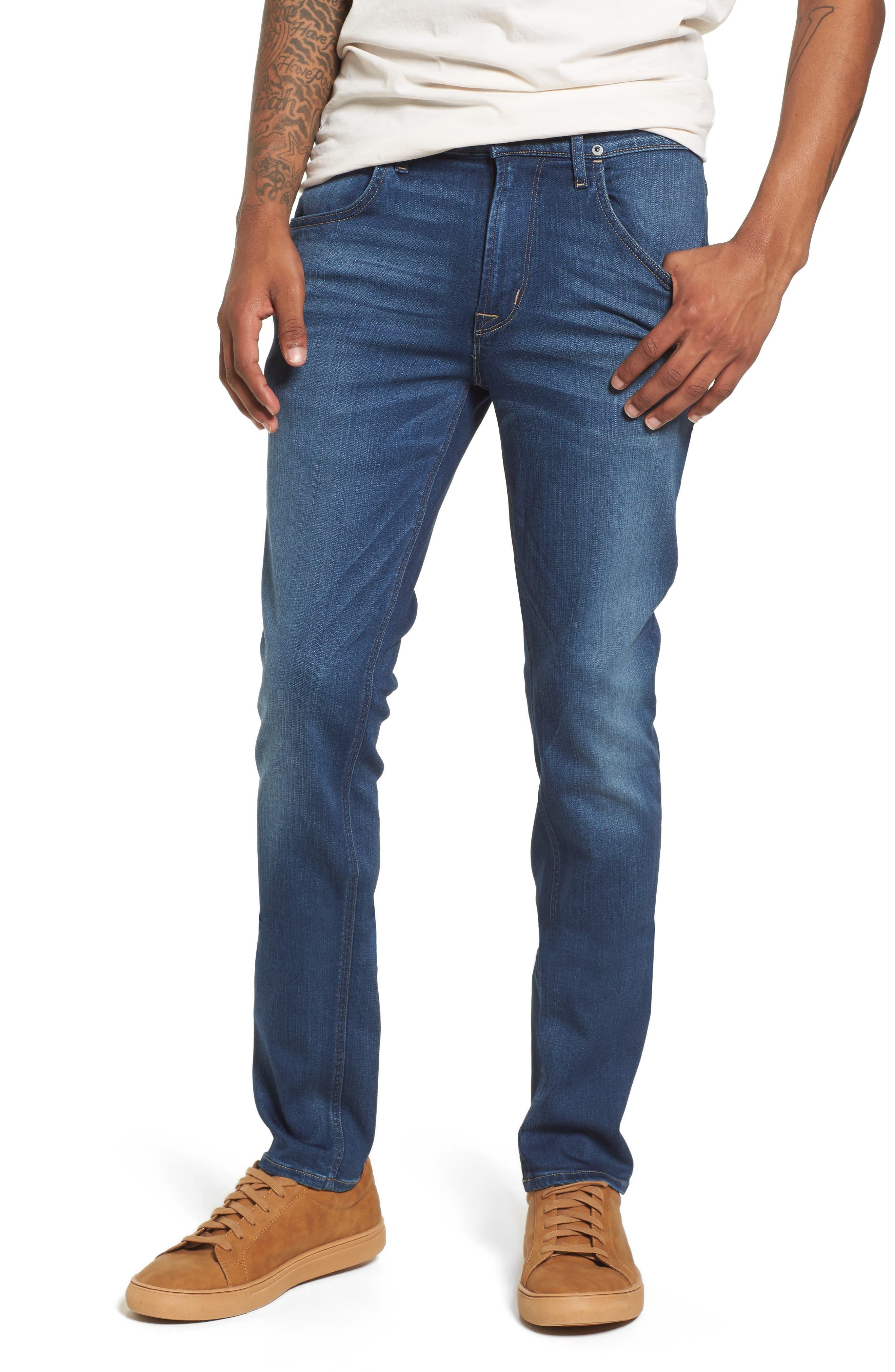 Hudson Blake Slim Fit Jeans,                             Main thumbnail 1, color,                             Independent