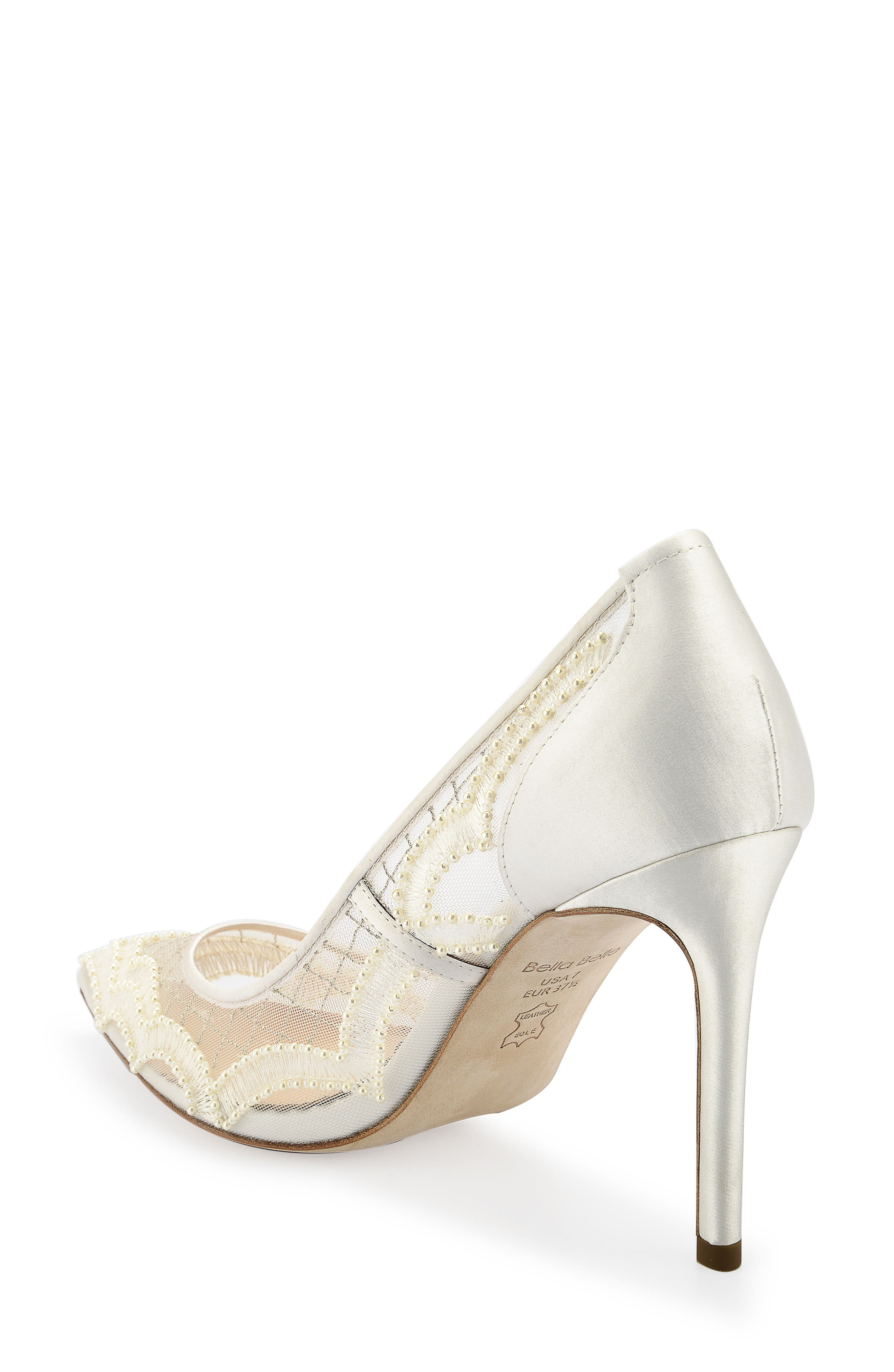 Nadia Pump,                             Alternate thumbnail 2, color,                             Ivory Silk