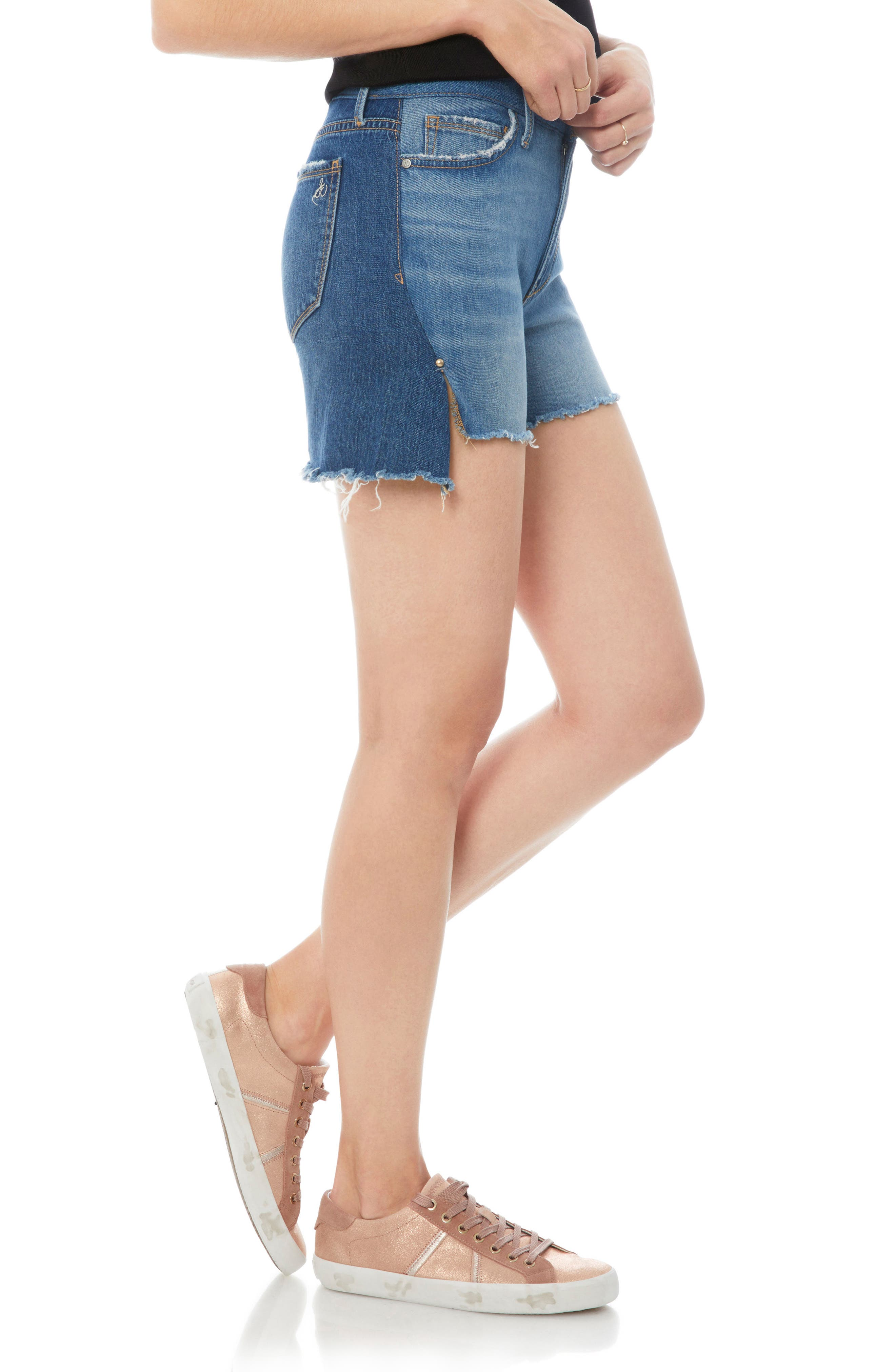 The Bootie Jean Shorts,                             Alternate thumbnail 3, color,                             Karlie