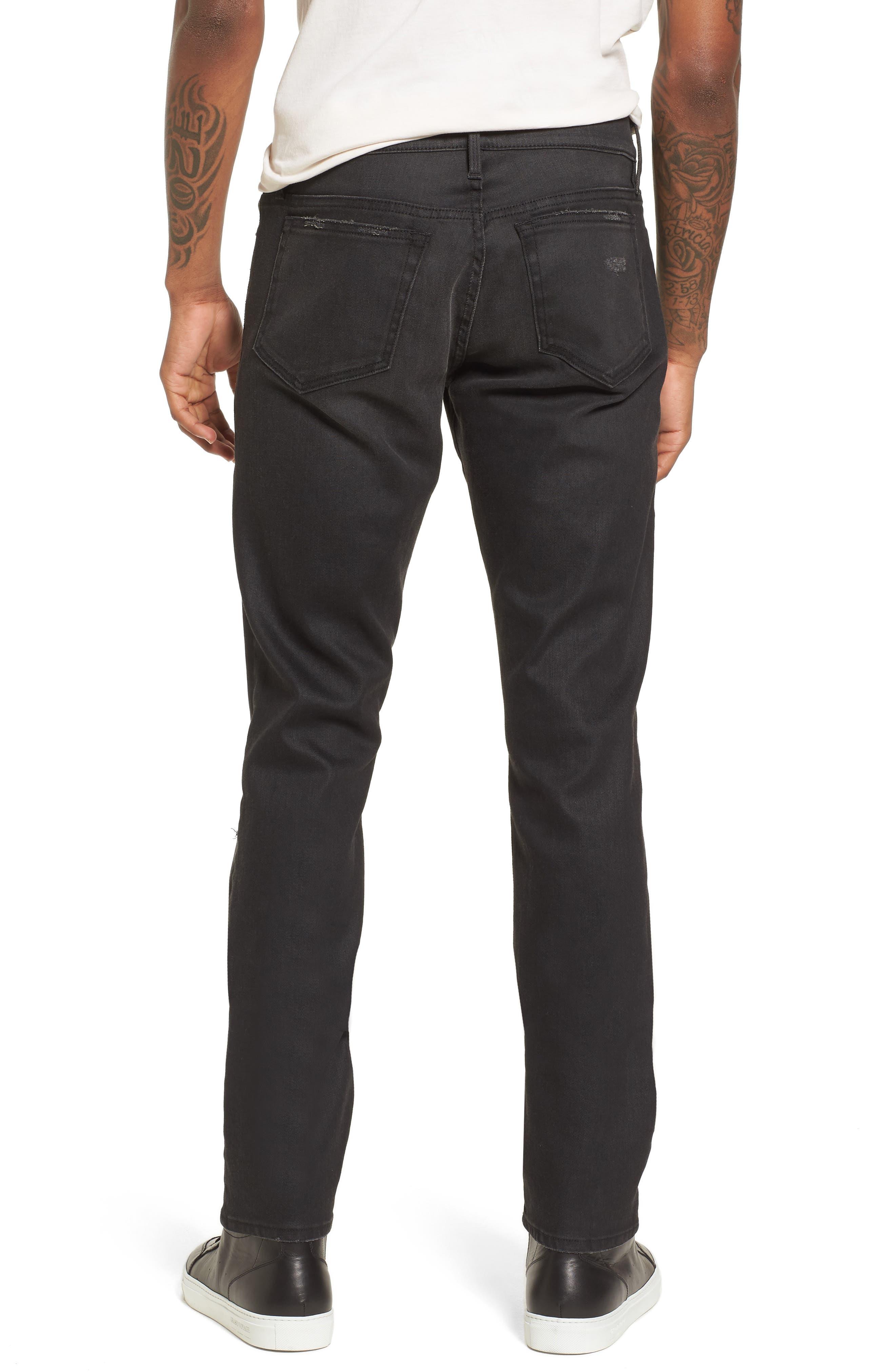 L'Homme Slim Fit Jeans,                             Alternate thumbnail 2, color,                             Flintwood