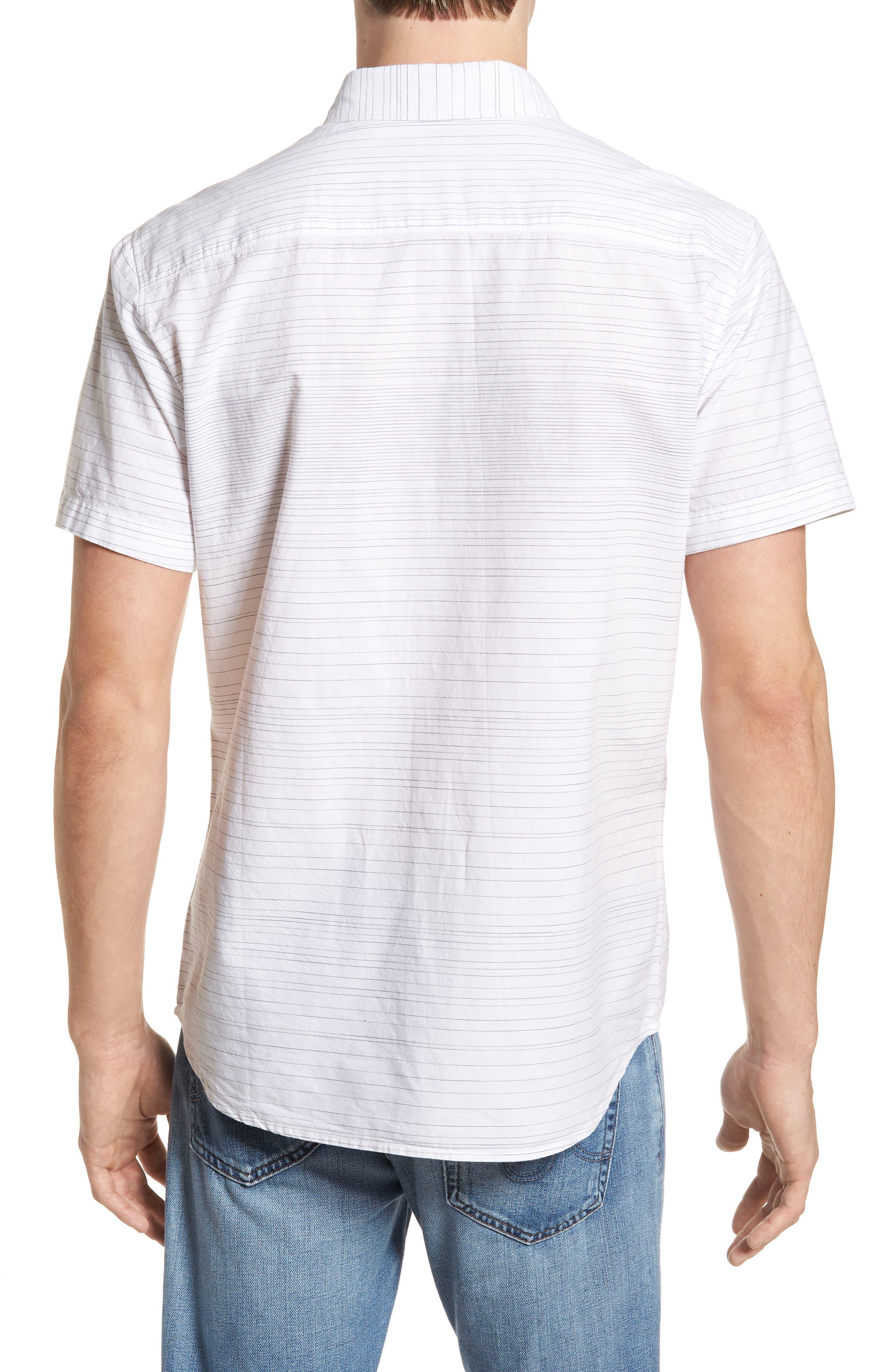 Hound Woven Shirt,                             Alternate thumbnail 2, color,                             White