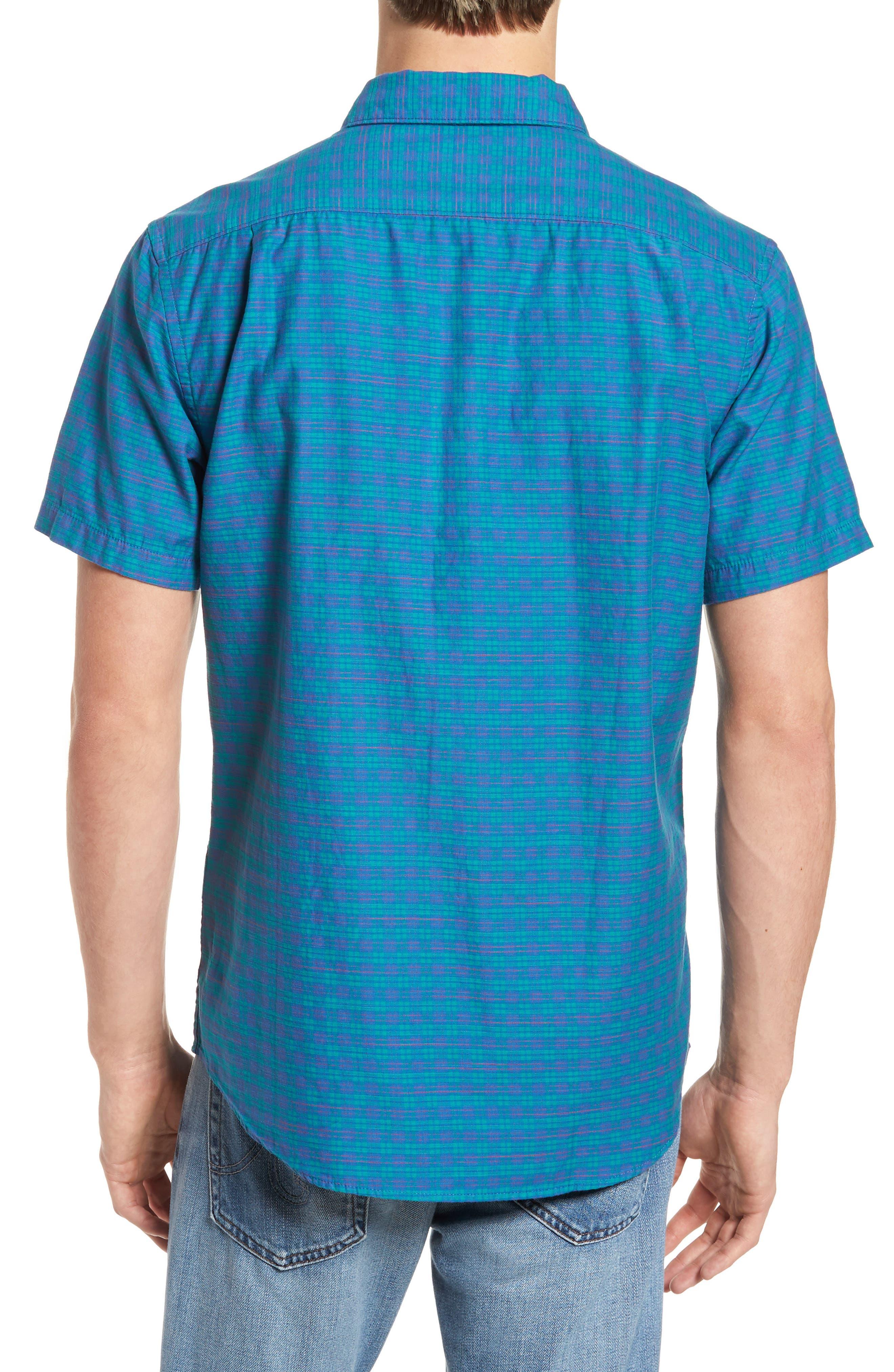 Delivery Woven Shirt,                             Alternate thumbnail 2, color,                             Cobalt