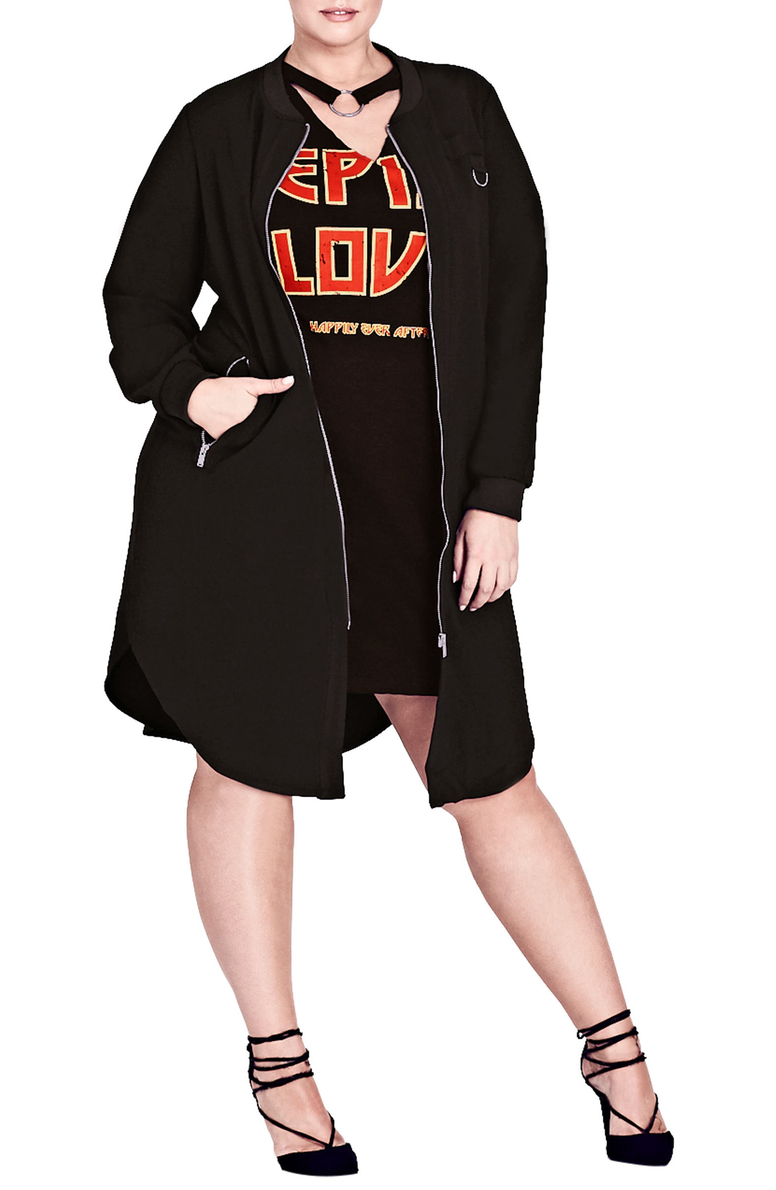 Fresh Vibe Jacket,                         Main,                         color, Black