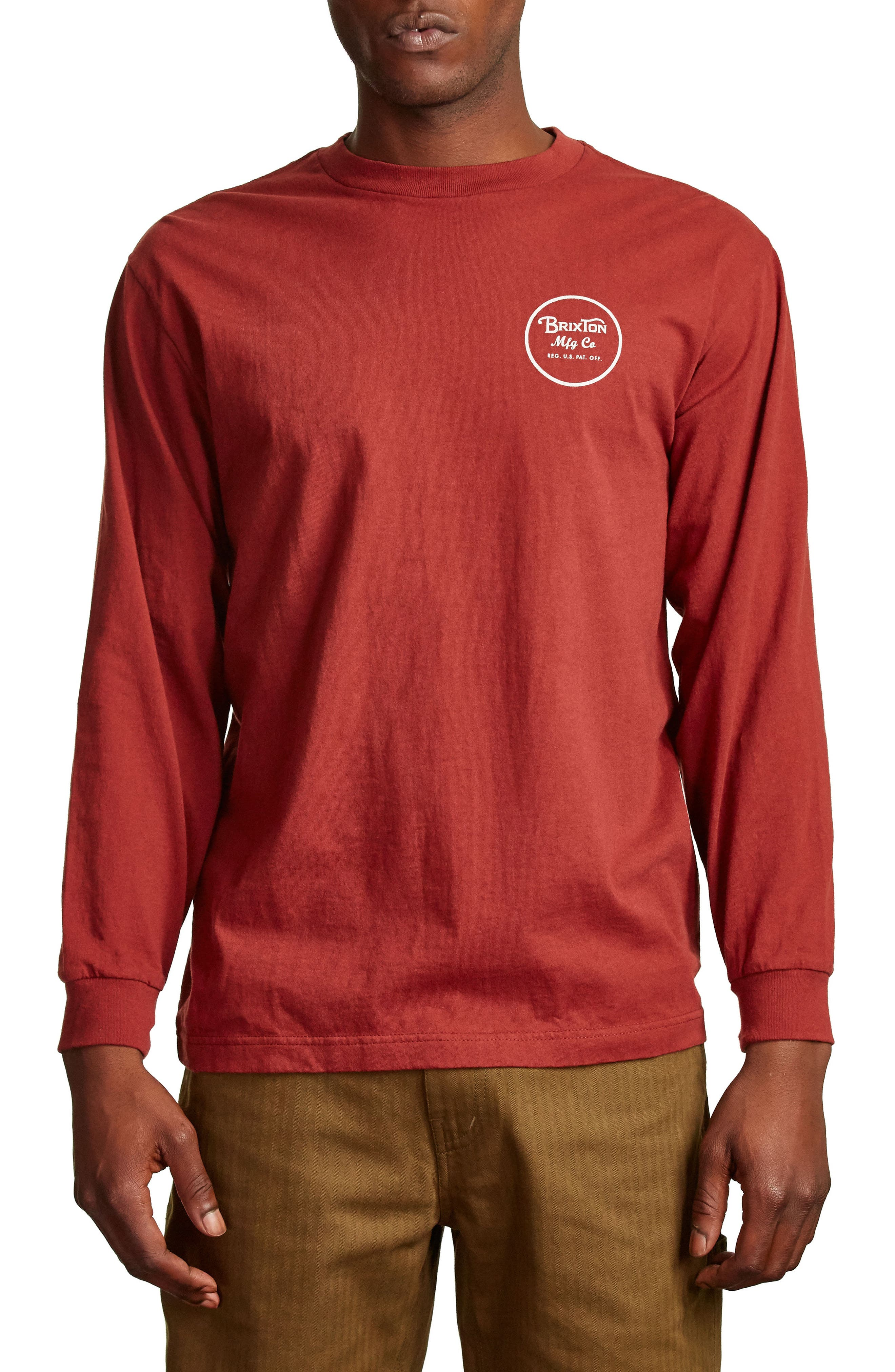Alternate Image 1 Selected - Brixton Wheeler II T-Shirt